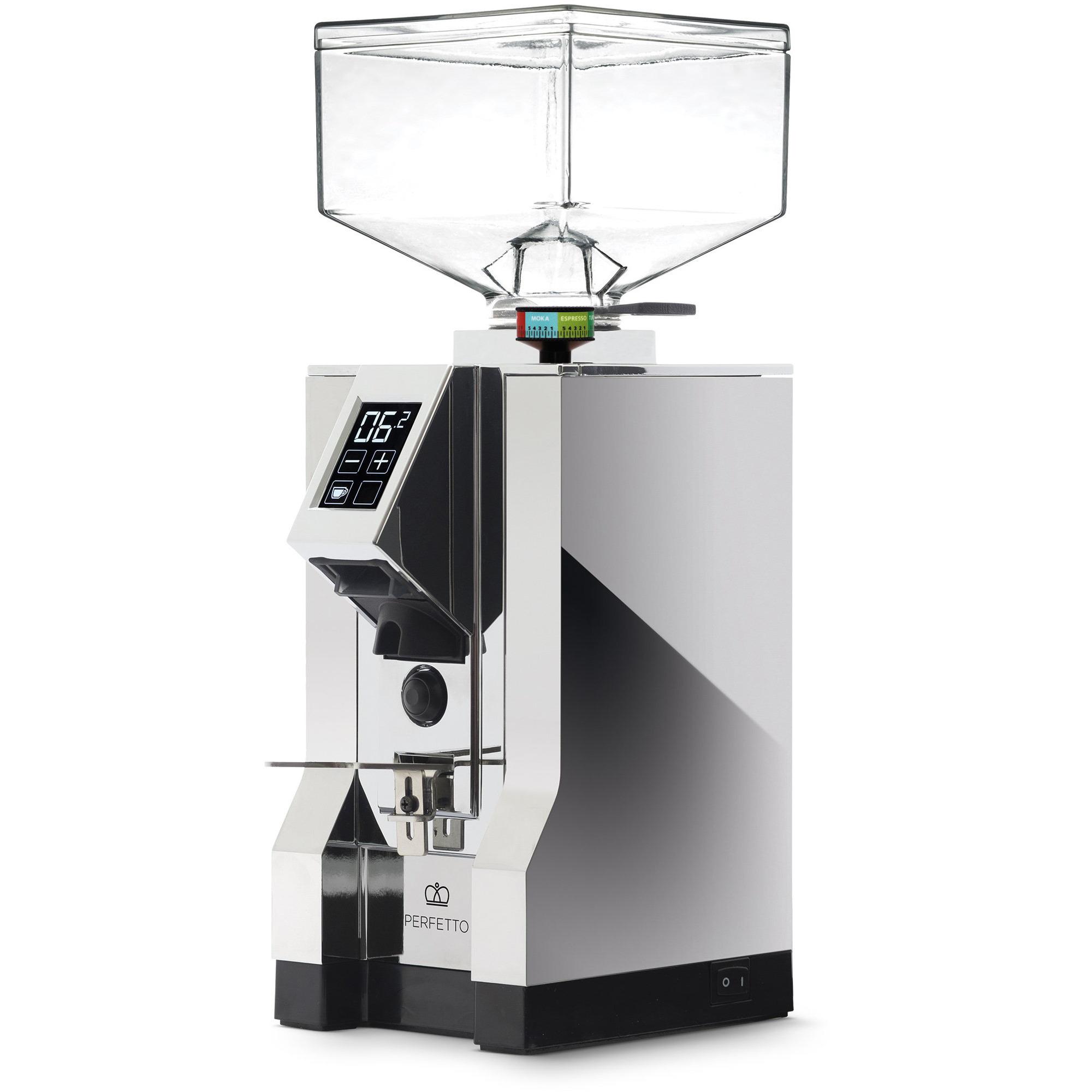 Eureka MIGNON Perfetto Elekrisk Kaffekvarn Förkromat stål