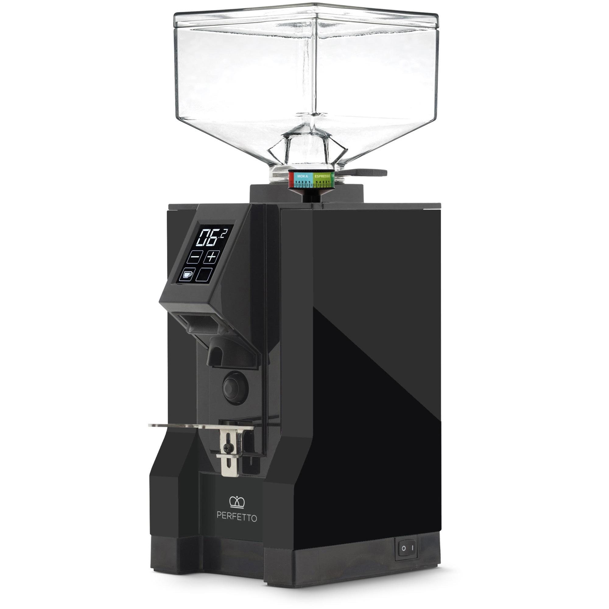 Eureka MIGNON Perfetto Elekrisk Kaffekvarn Svart