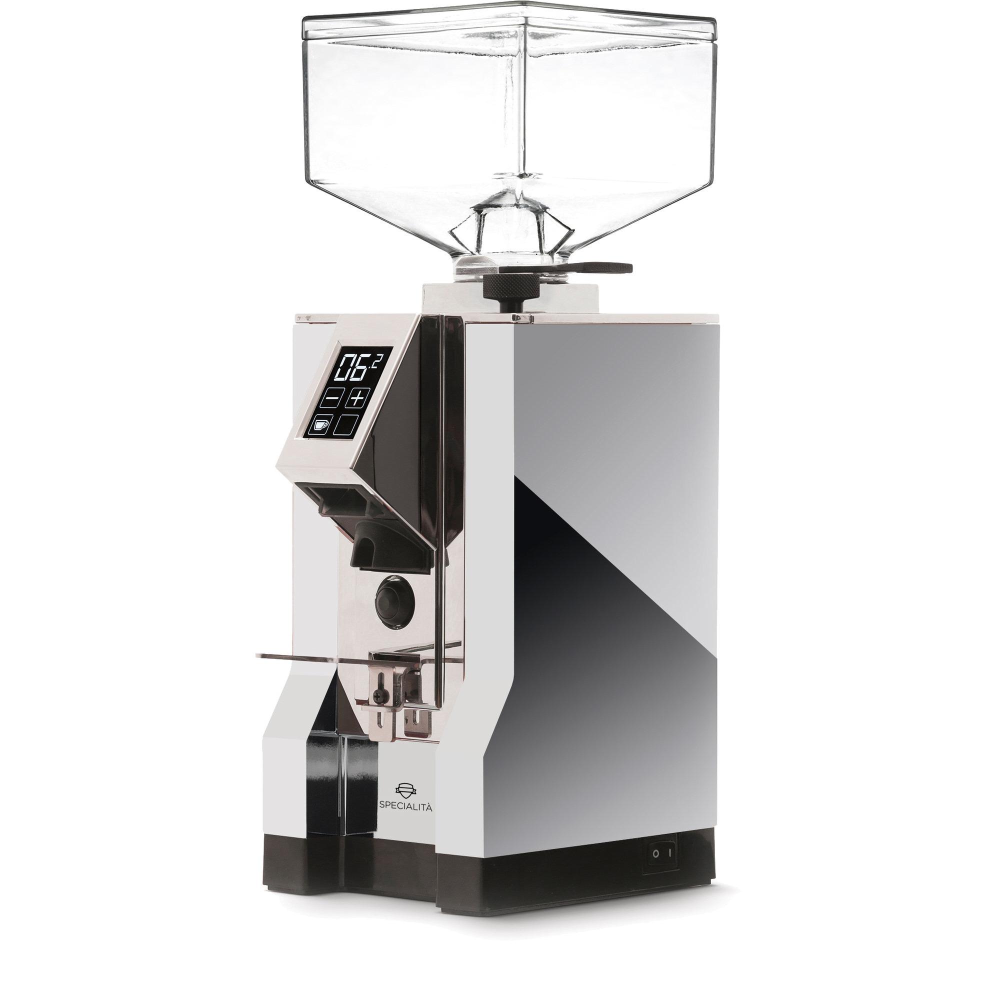 Eureka MIGNON Specialitá Elektrisk Kaffekvarn Chrome
