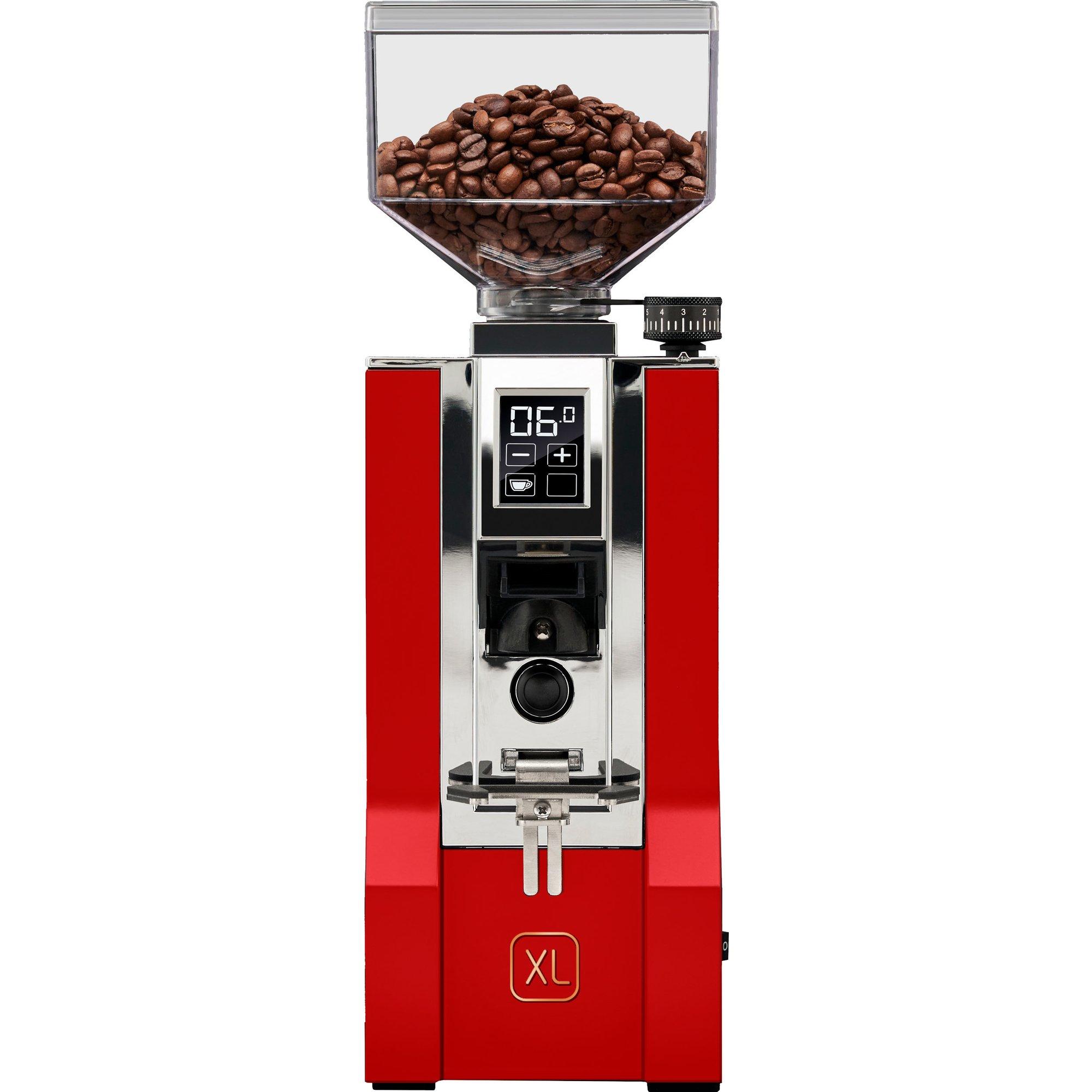 Eureka Mignon XL Kaffekvarn röd