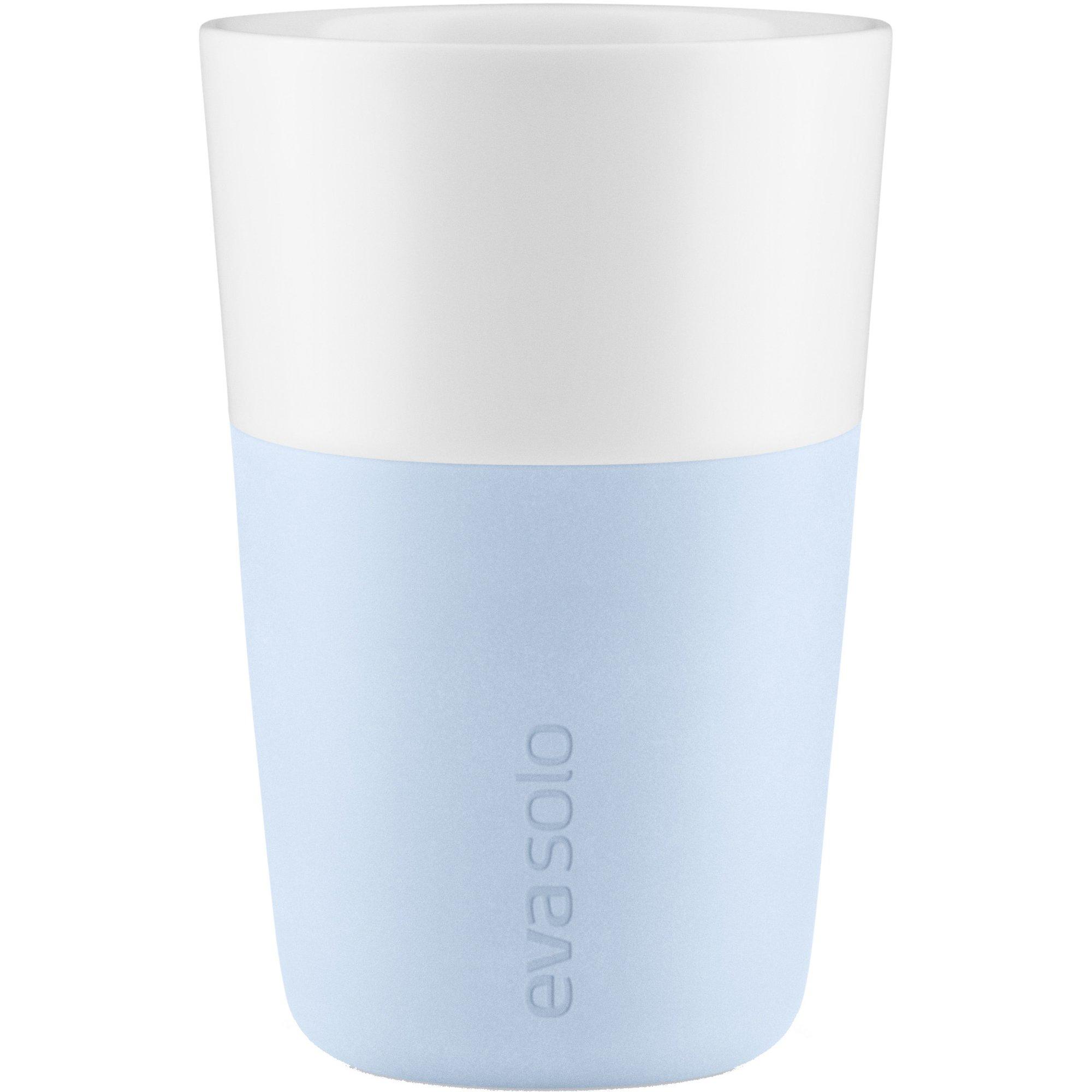 Eva Solo Cafe Latte Mugg 2 st. Ljusblå