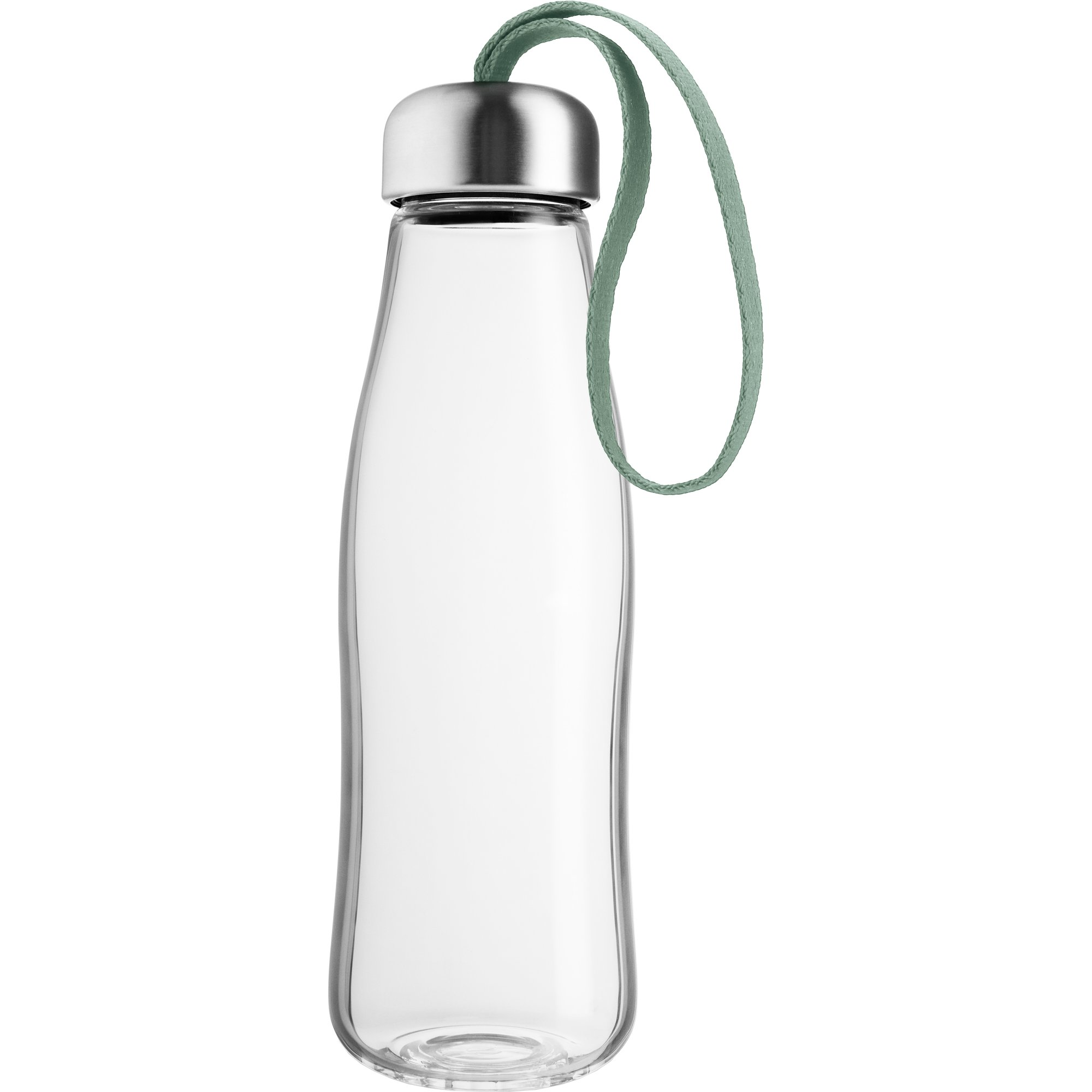 Eva Solo Dricksflaska Glas 05 liter Faded Green