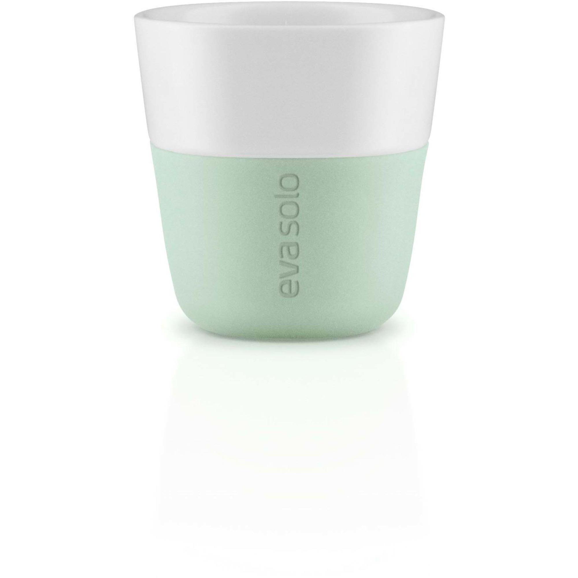 Eva Solo 2 Espressomuggar Eucalyptus green