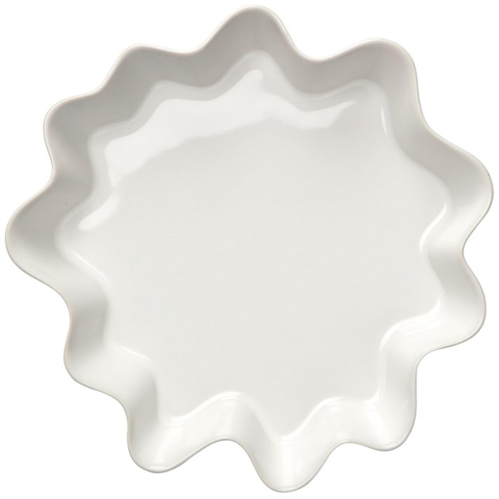 Höganäs Keramik Pajform 2 L Vit blank