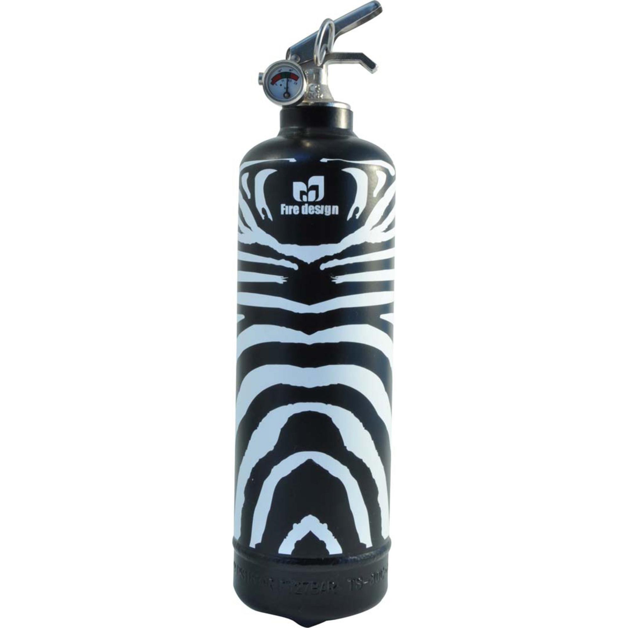 Fire Design Brandsläckare Zebra noir