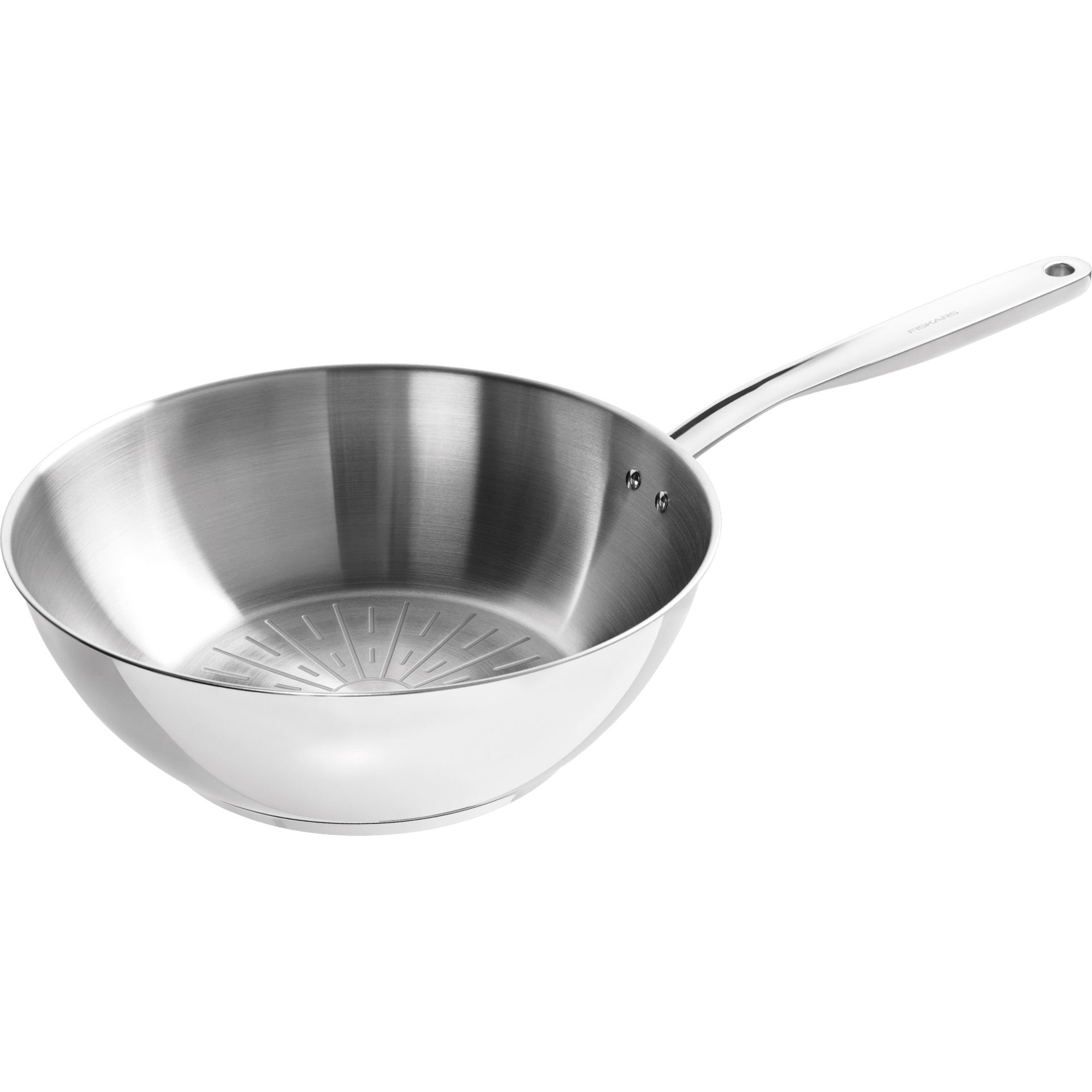 Fiskars All Steel Pure wokpanna 28 cm.
