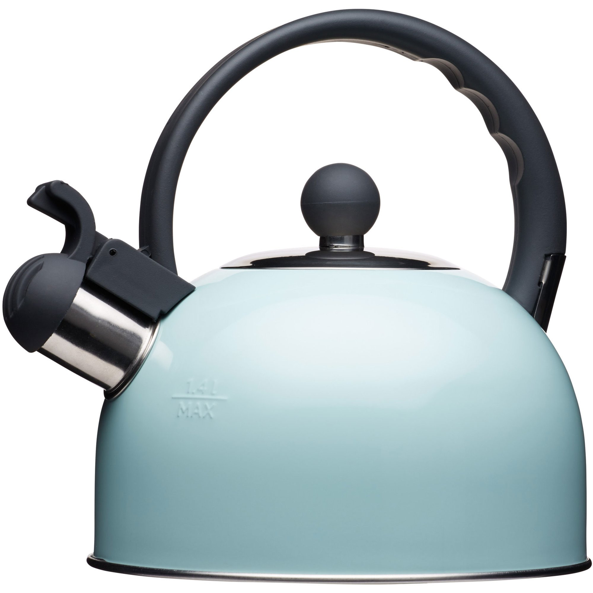 Kitchen Craft Vattenkittel med Vissla 14 liter Blå