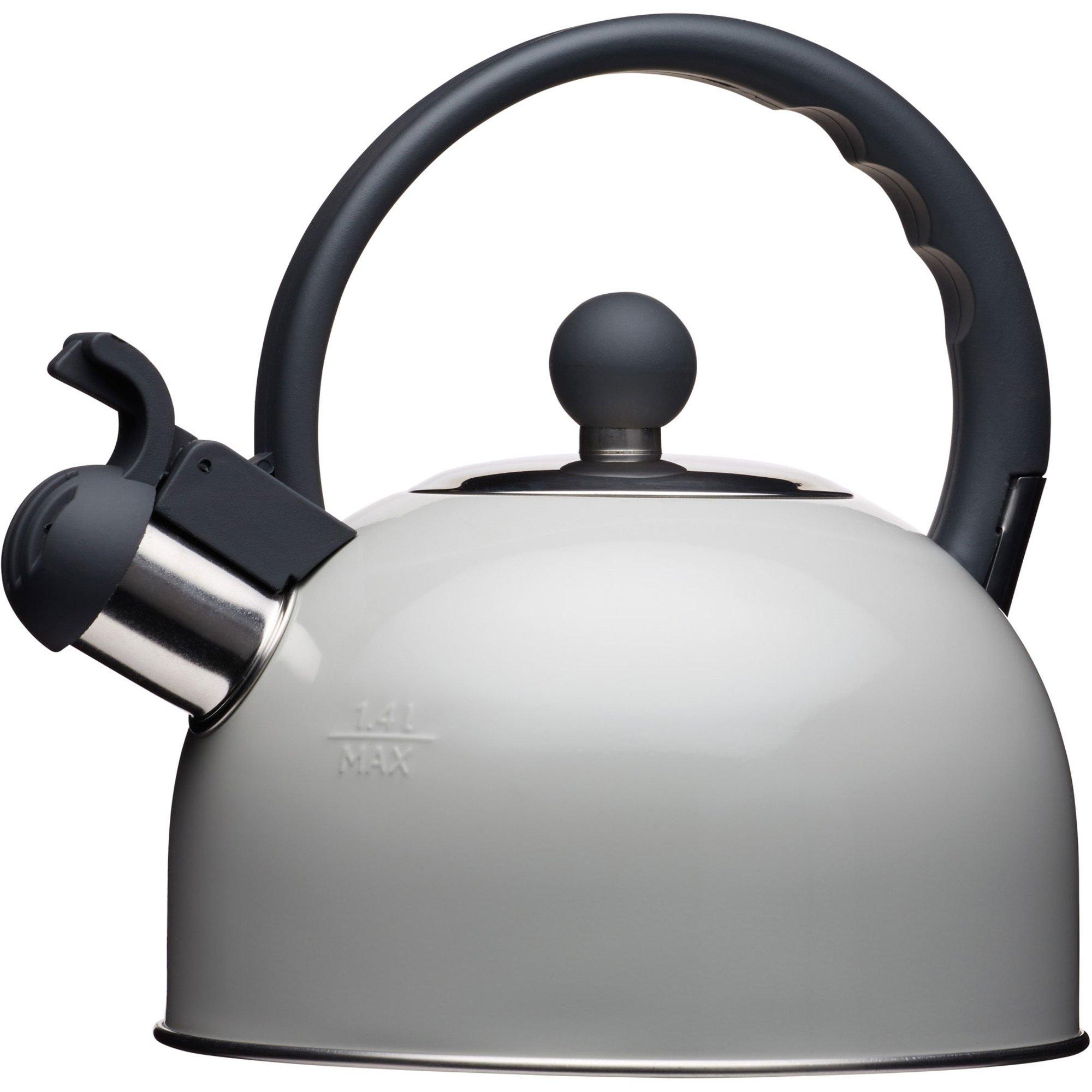 Kitchen Craft Vattenkittel med Vissla 14 liter Grå