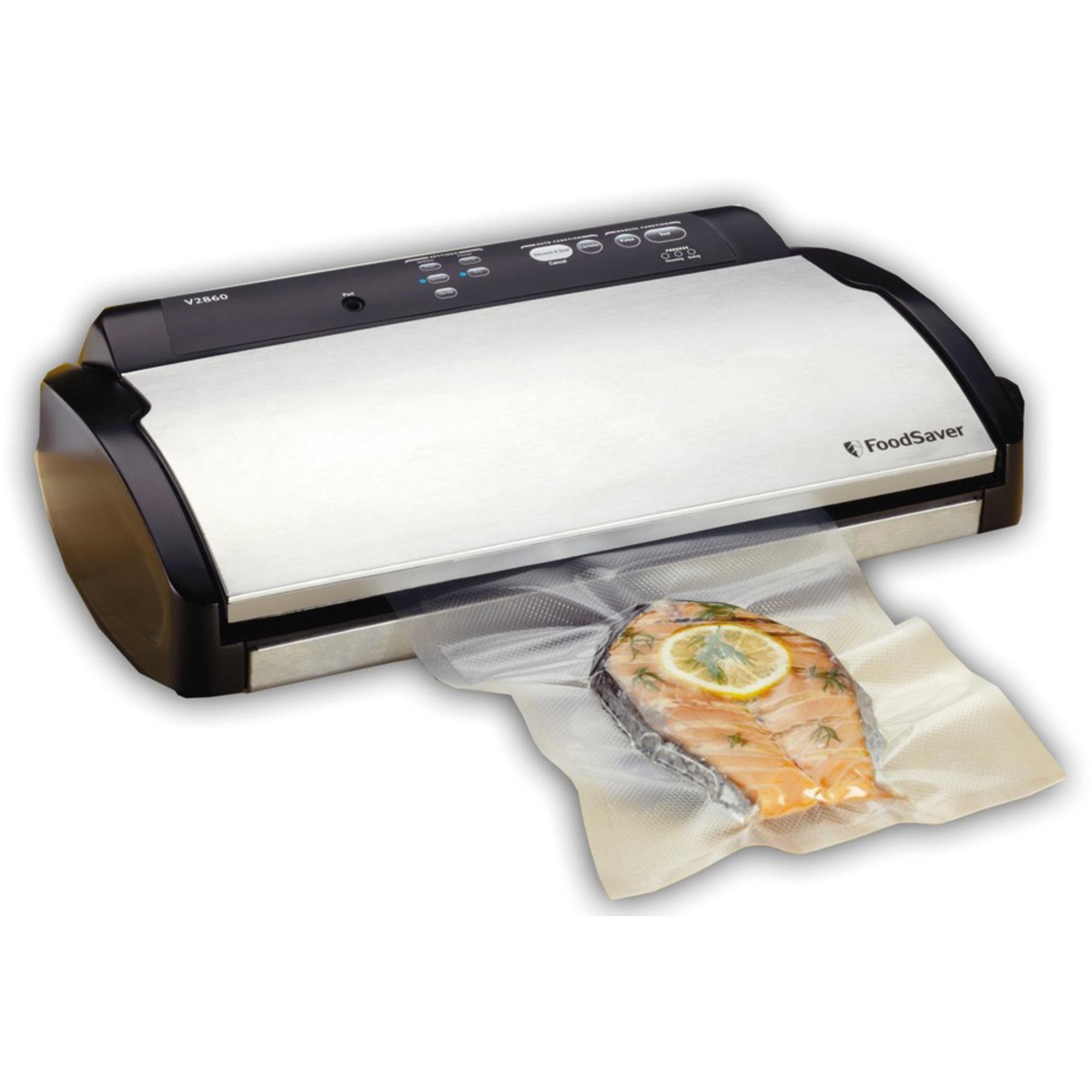 FoodSaver V-2860 Vakuumförpackare med Rullförvaring