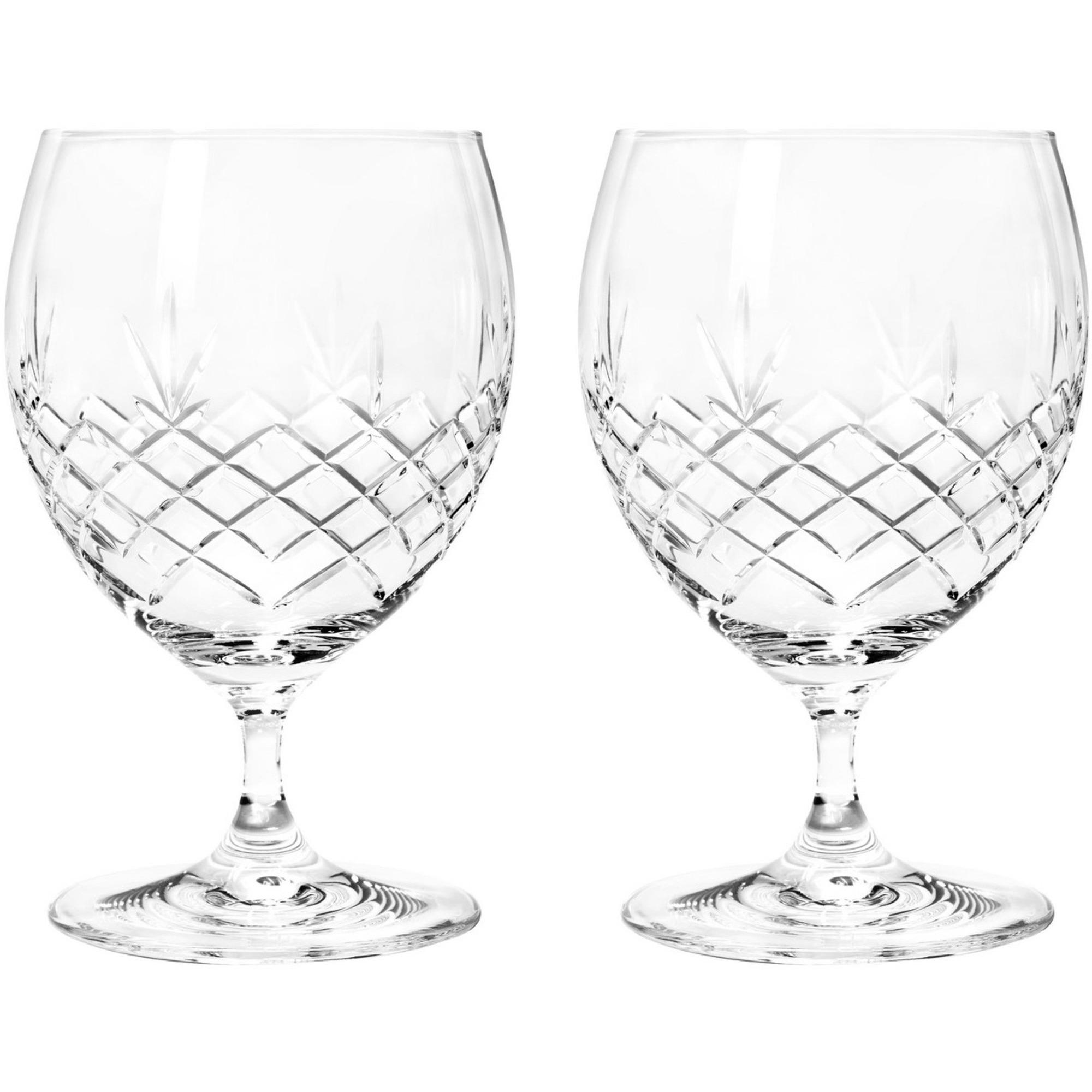 Frederik Bagger Crispy Eightball glas 2 st.