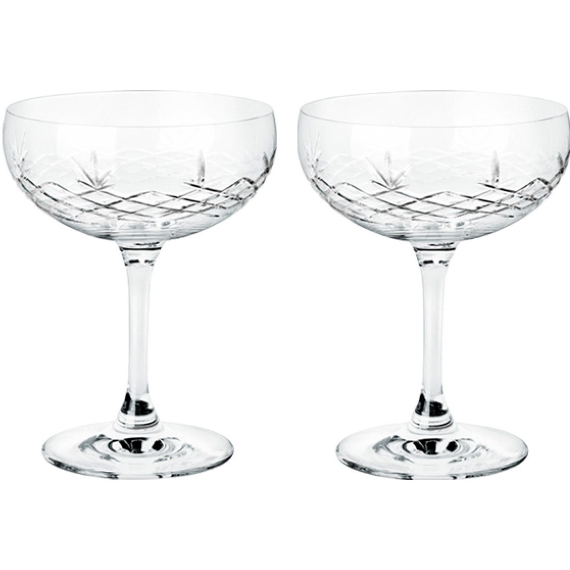 Frederik Bagger Crispy Gatsby champagneglas 2 st.
