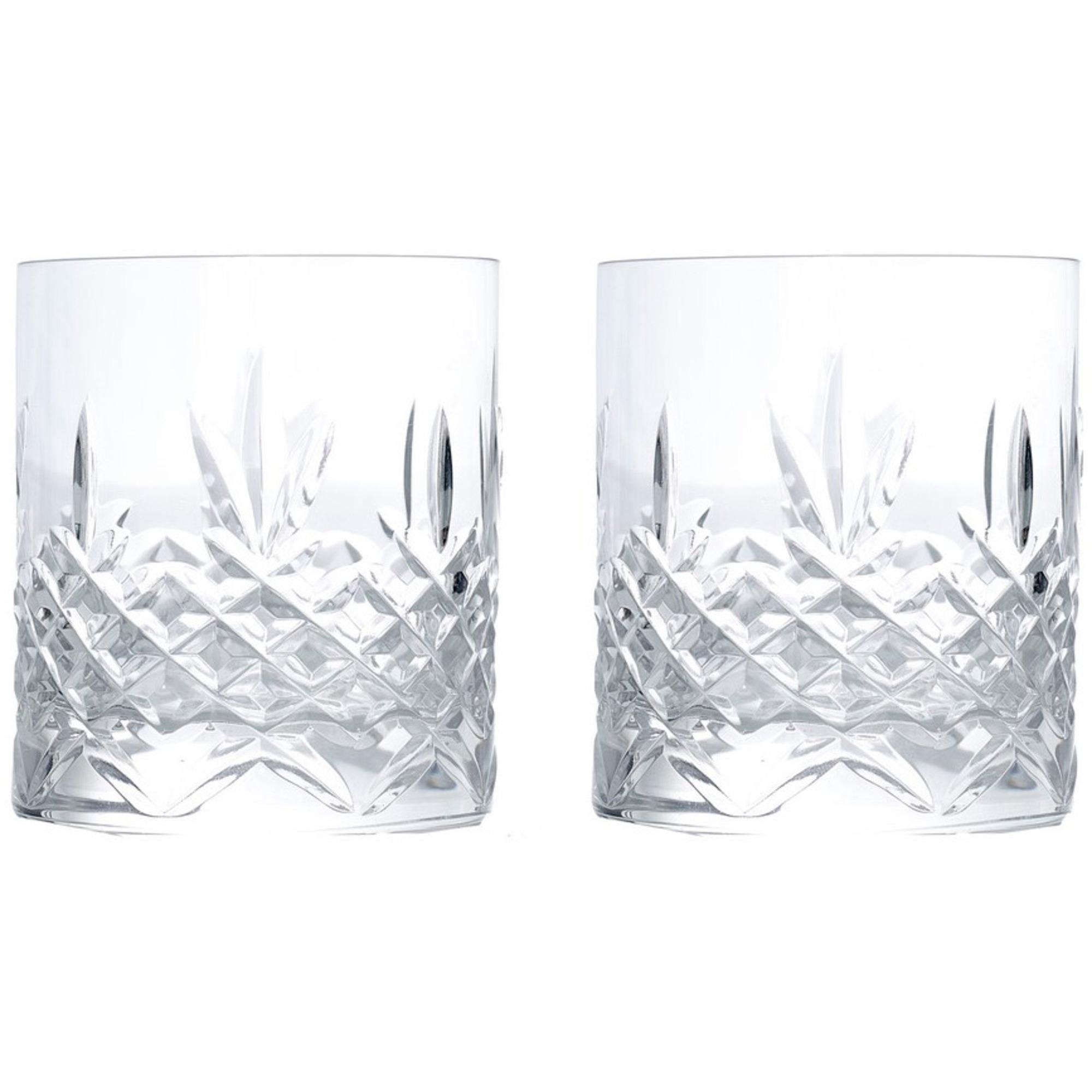 Frederik Bagger Crispy Lowball whiskyglas 2 st.