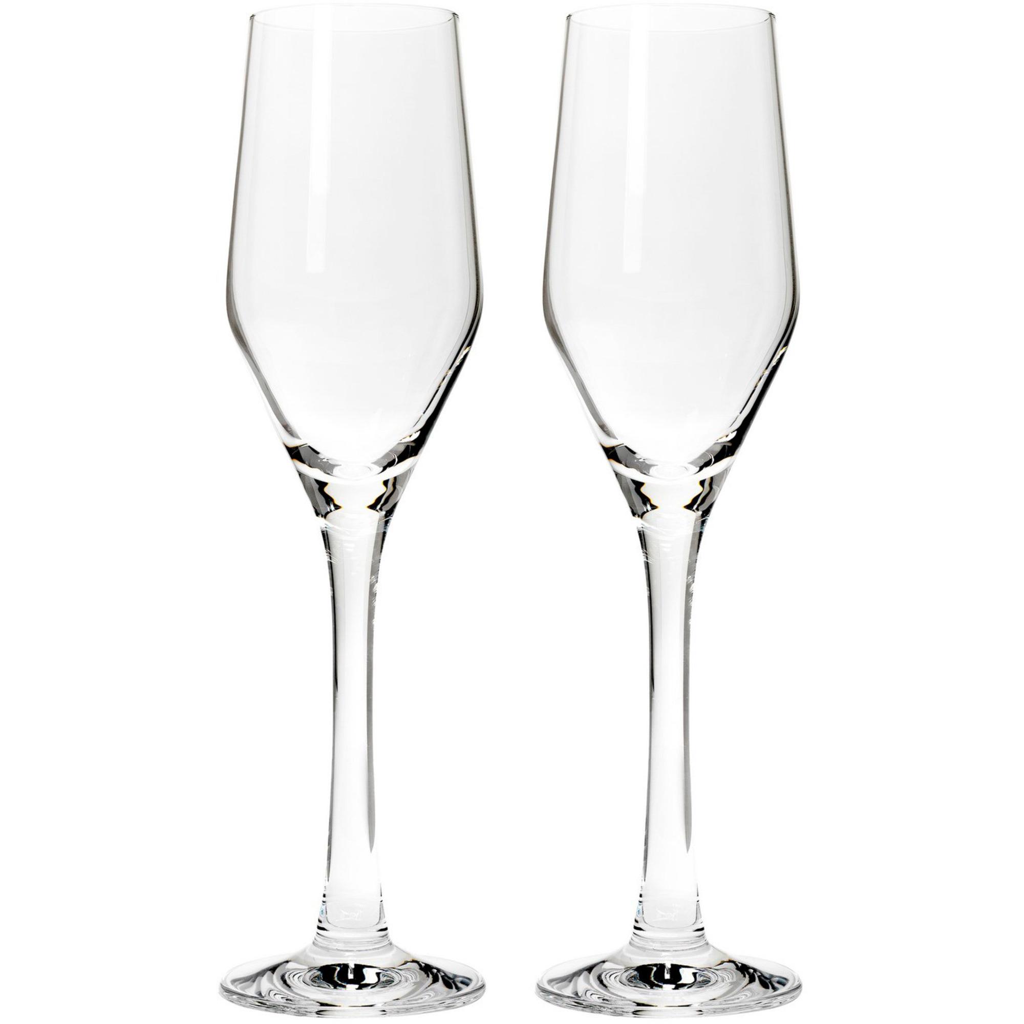 Frederik Bagger Signature Champagneglas 2 st.