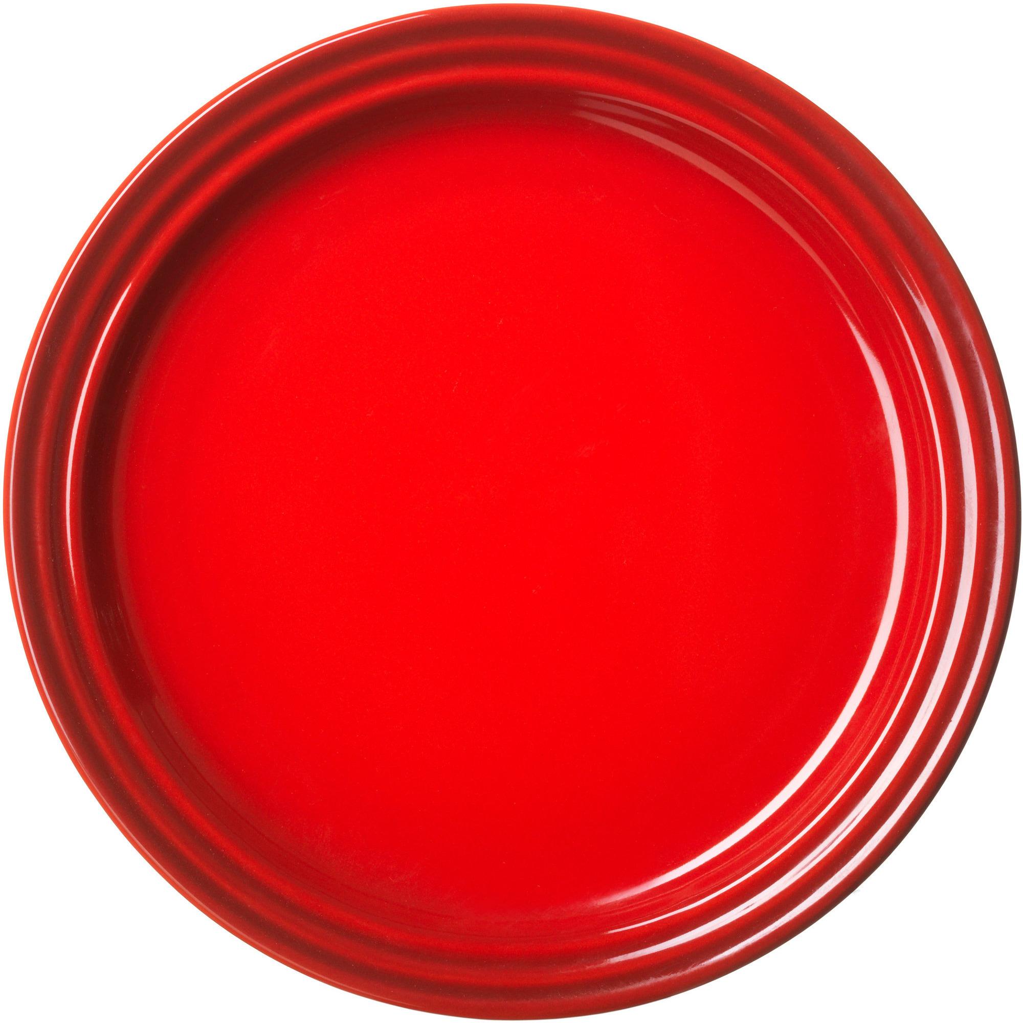 Le Creuset Lunchtallrik 23 cm Röd