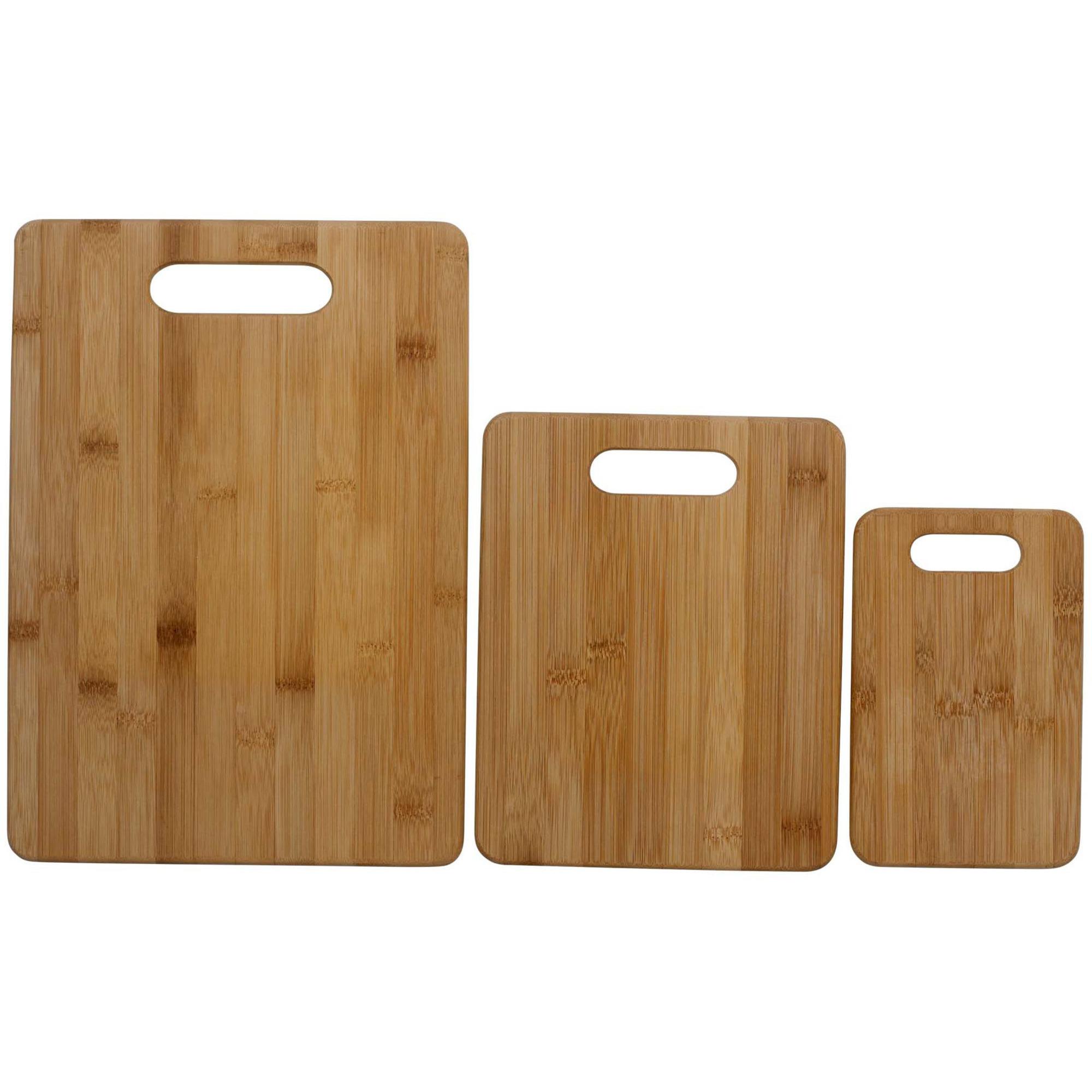 Funktion Skärbräda set om 3 st Bambu