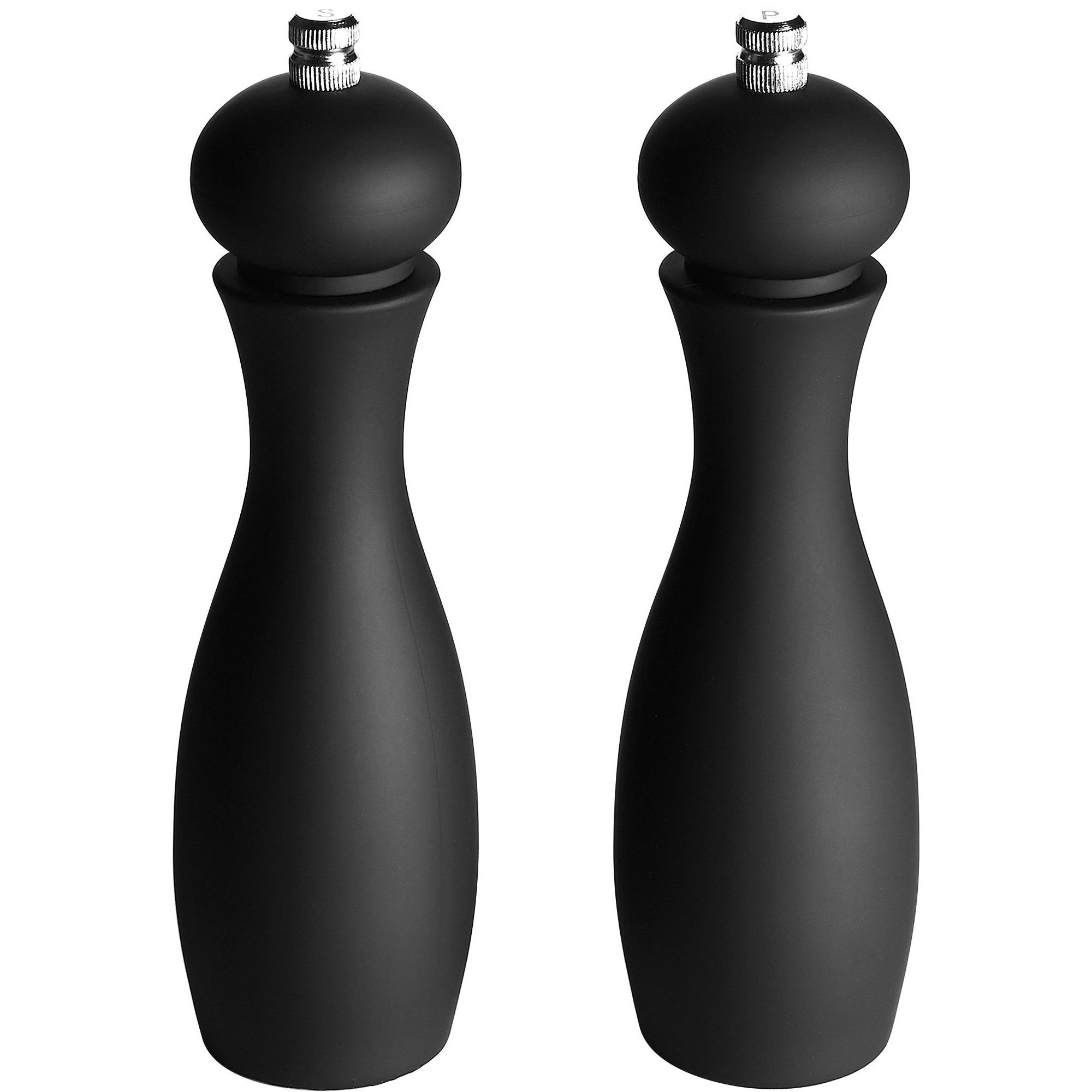 Funktion Salt & Peber 185 cm. Sort