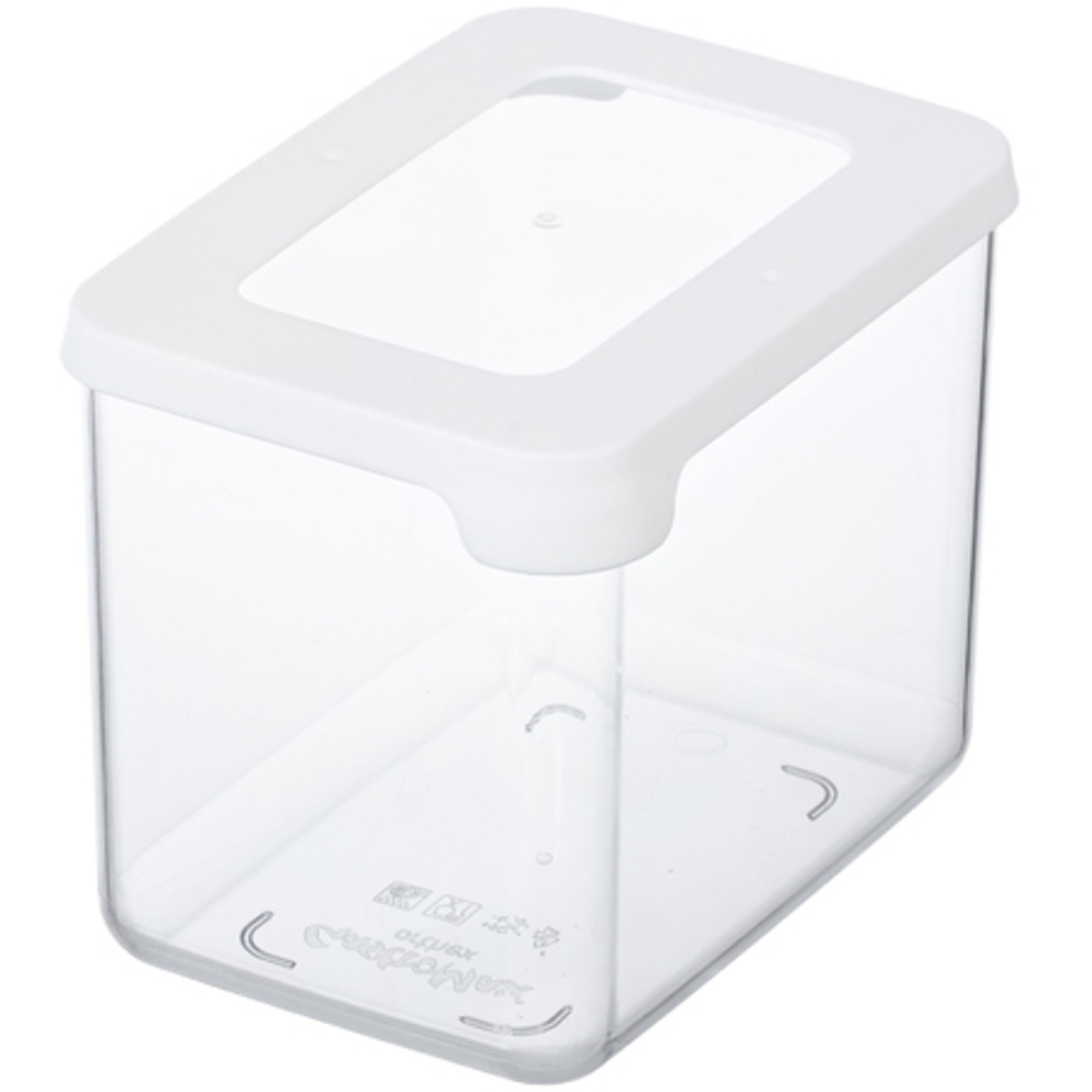Gastromax Skafferiförvaring 08 Liter Transparent