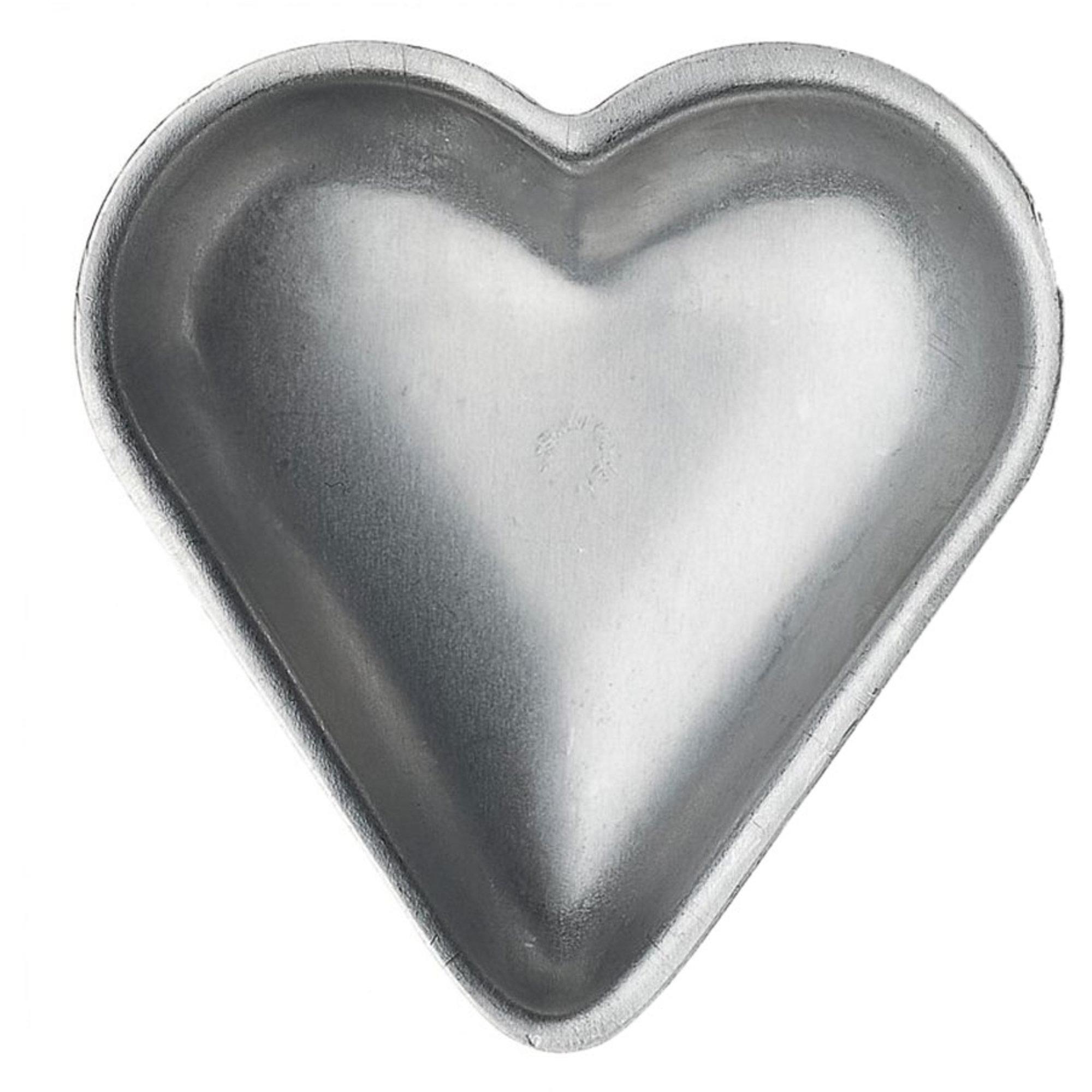 Gastromax Vaniljhjärtanformar i Aluminium 6-pack