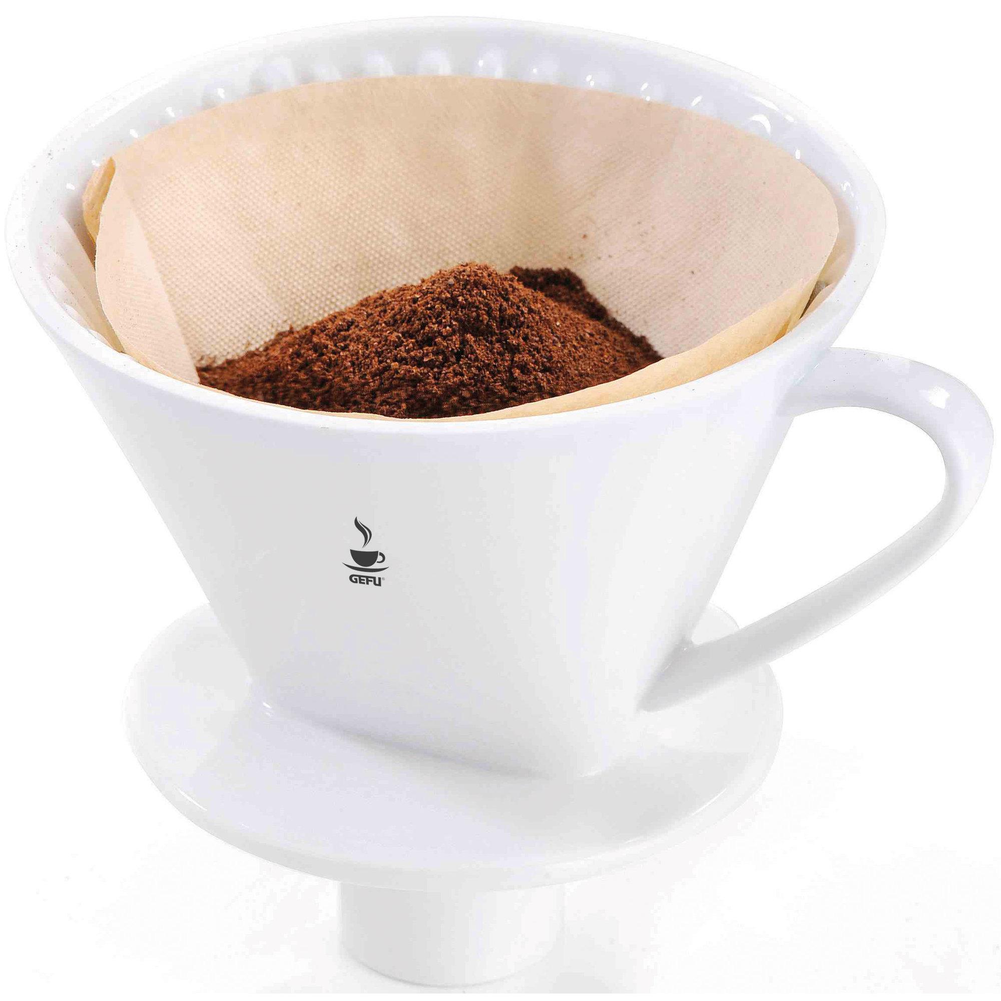 GEFU Kaffefilter porslin storlek 4