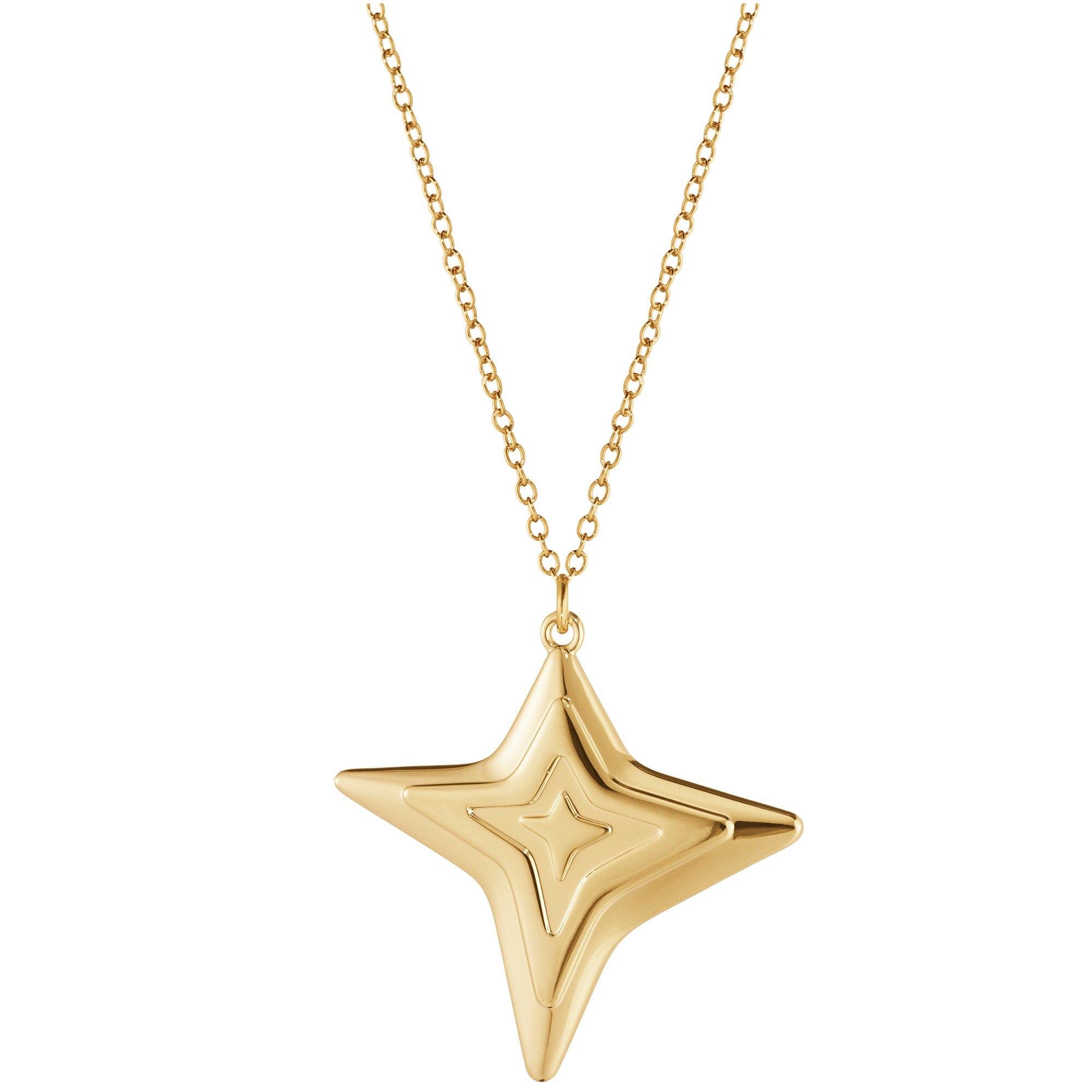 Georg Jensen 2021 fyra spetsar Ornament guld
