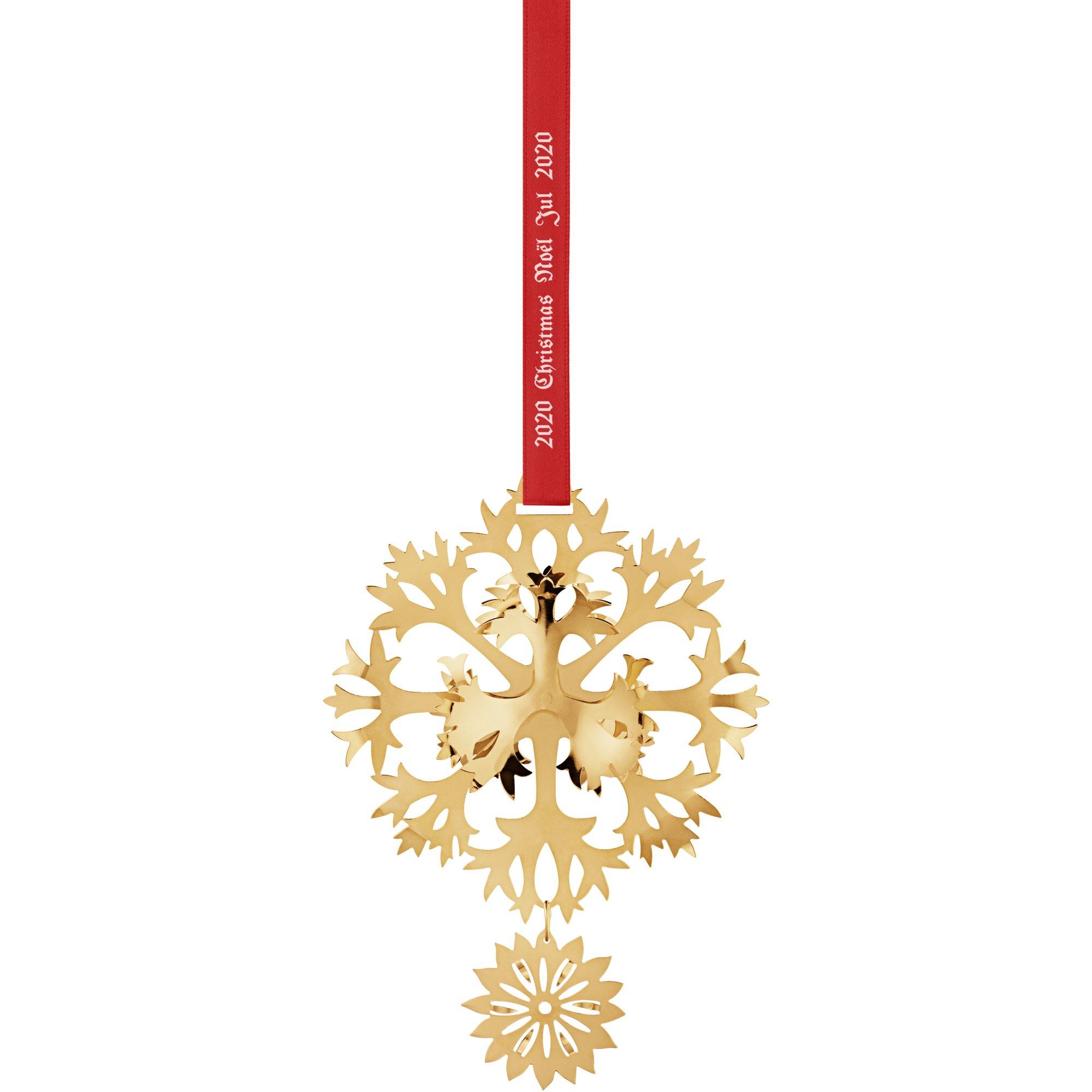 Georg Jensen 2020 Ice Flower guld
