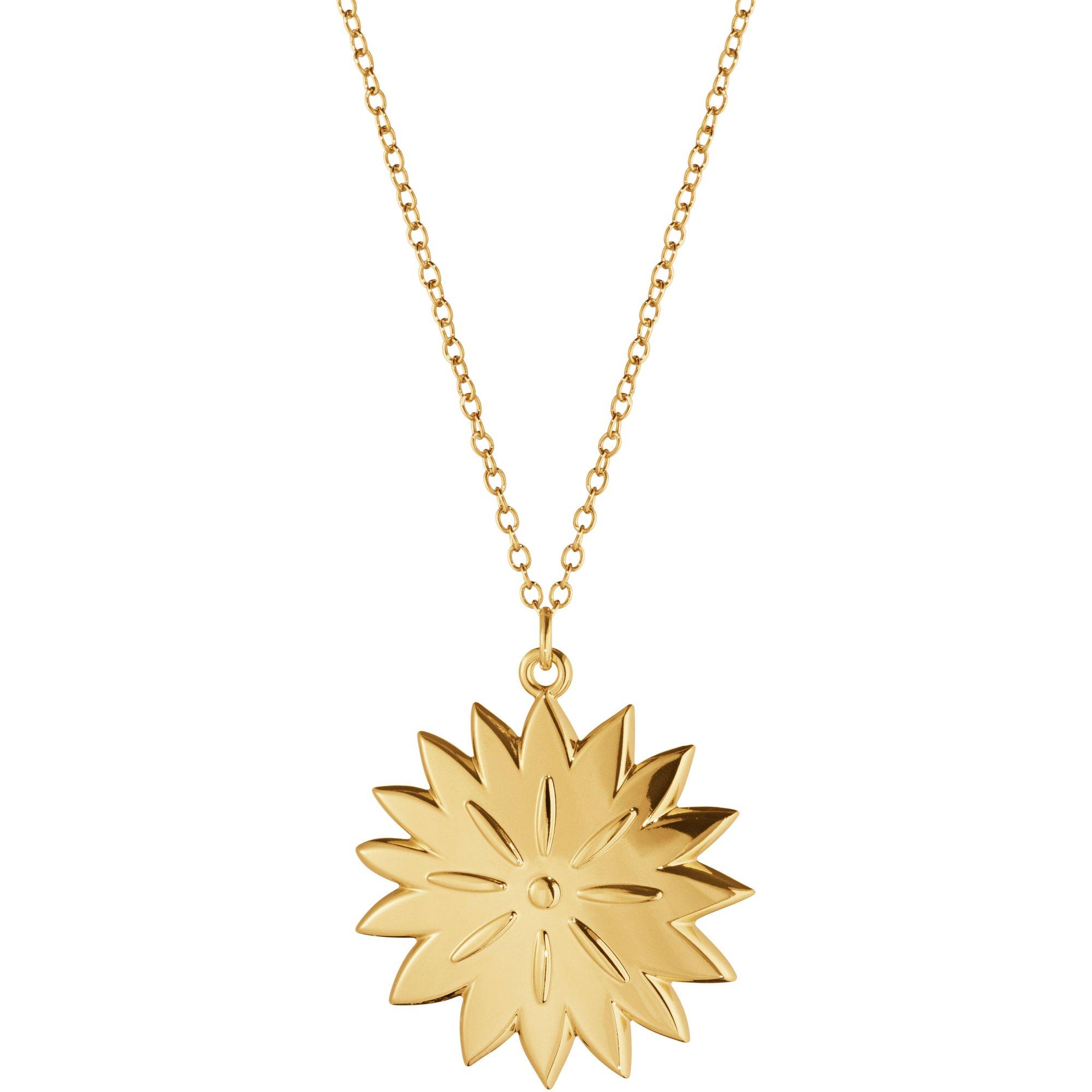Georg Jensen 2020 Ornament Ice Dianthus guld