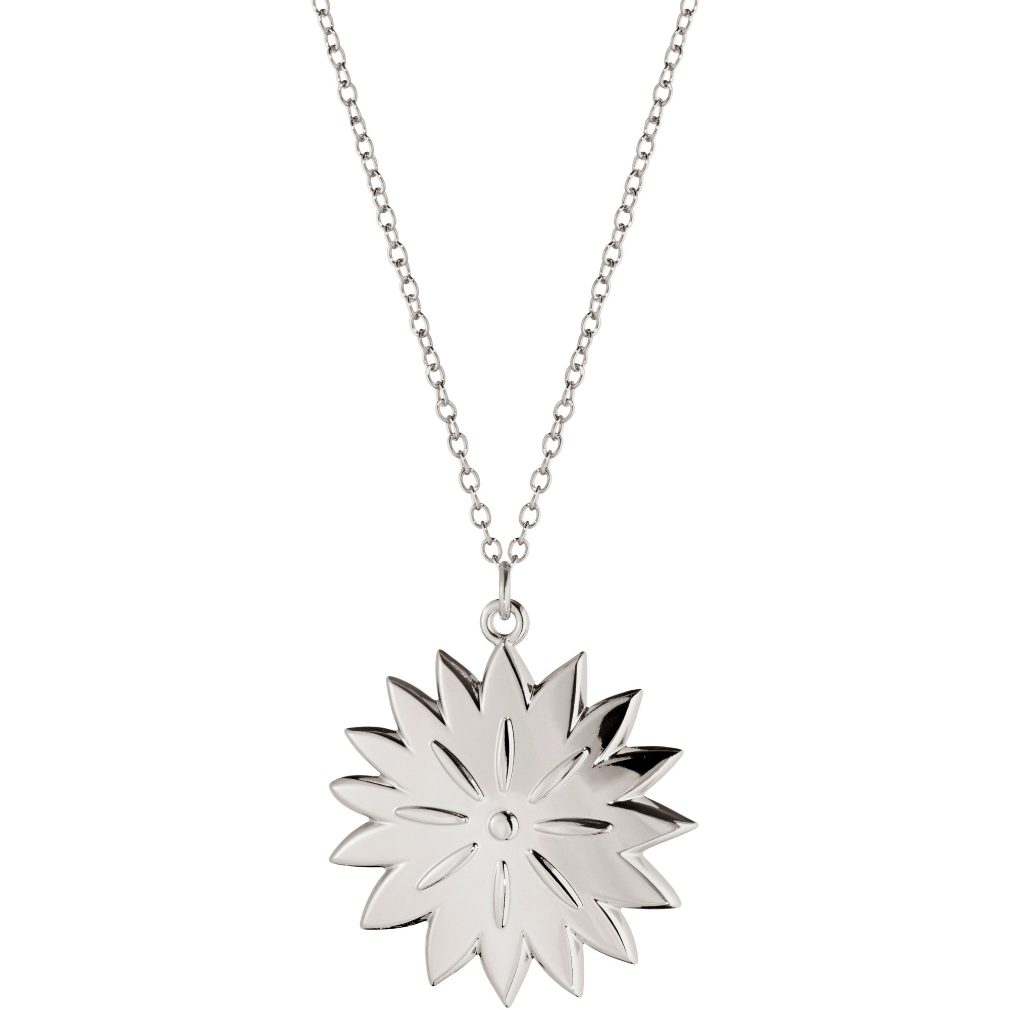 Georg Jensen 2020 Ornament Ice Dianthus palladium