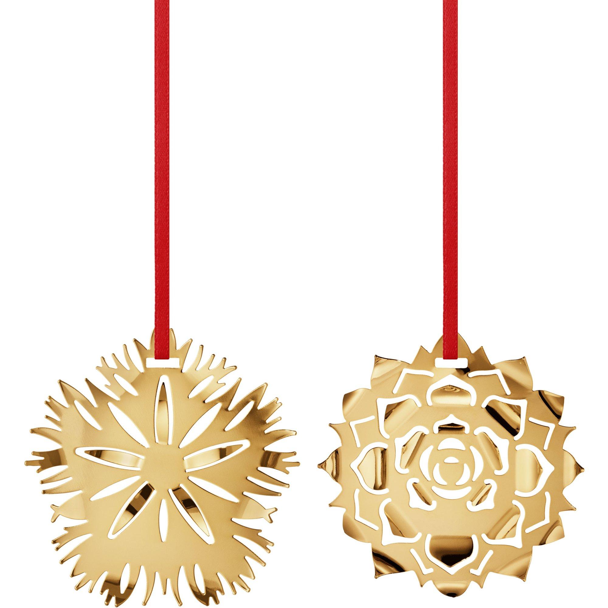 Georg Jensen 2020 Ornament Ice & Ice Rosette