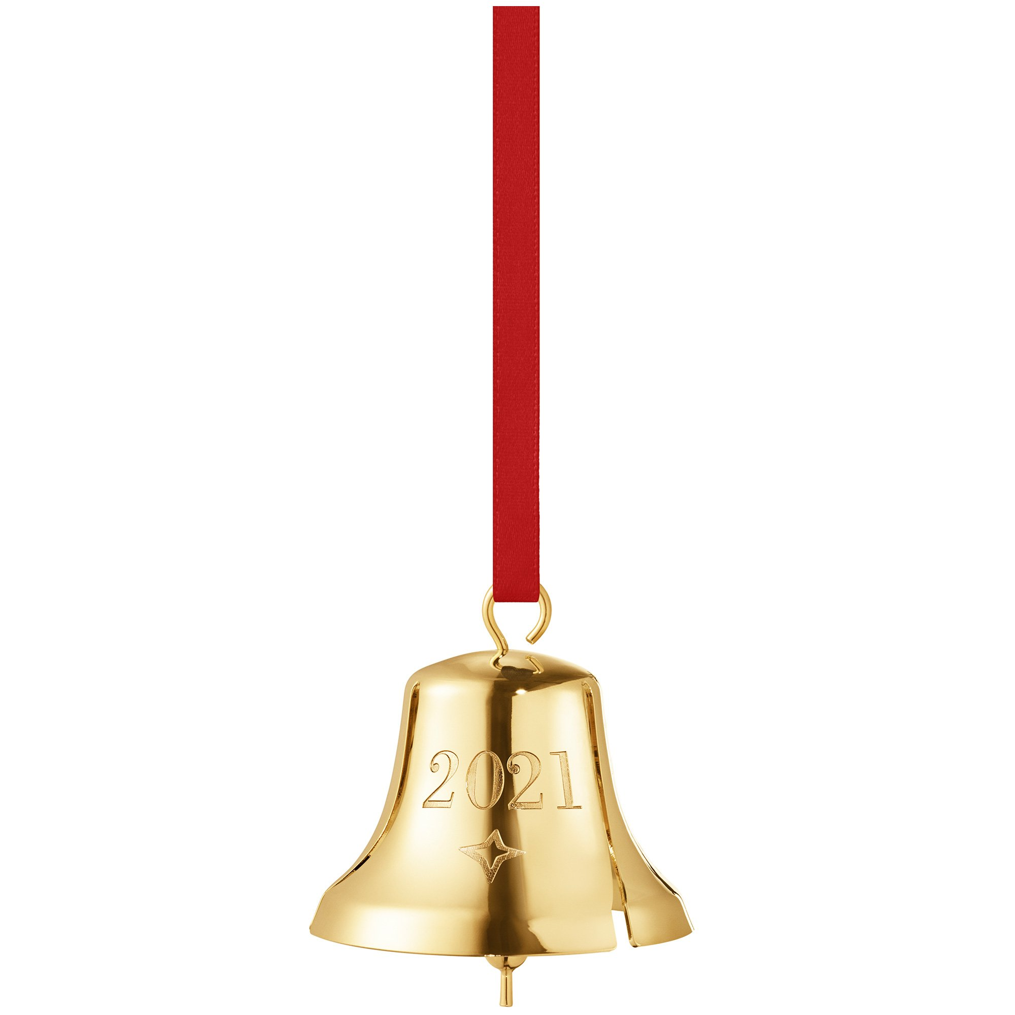 Georg Jensen 2021 juleklokke, guld