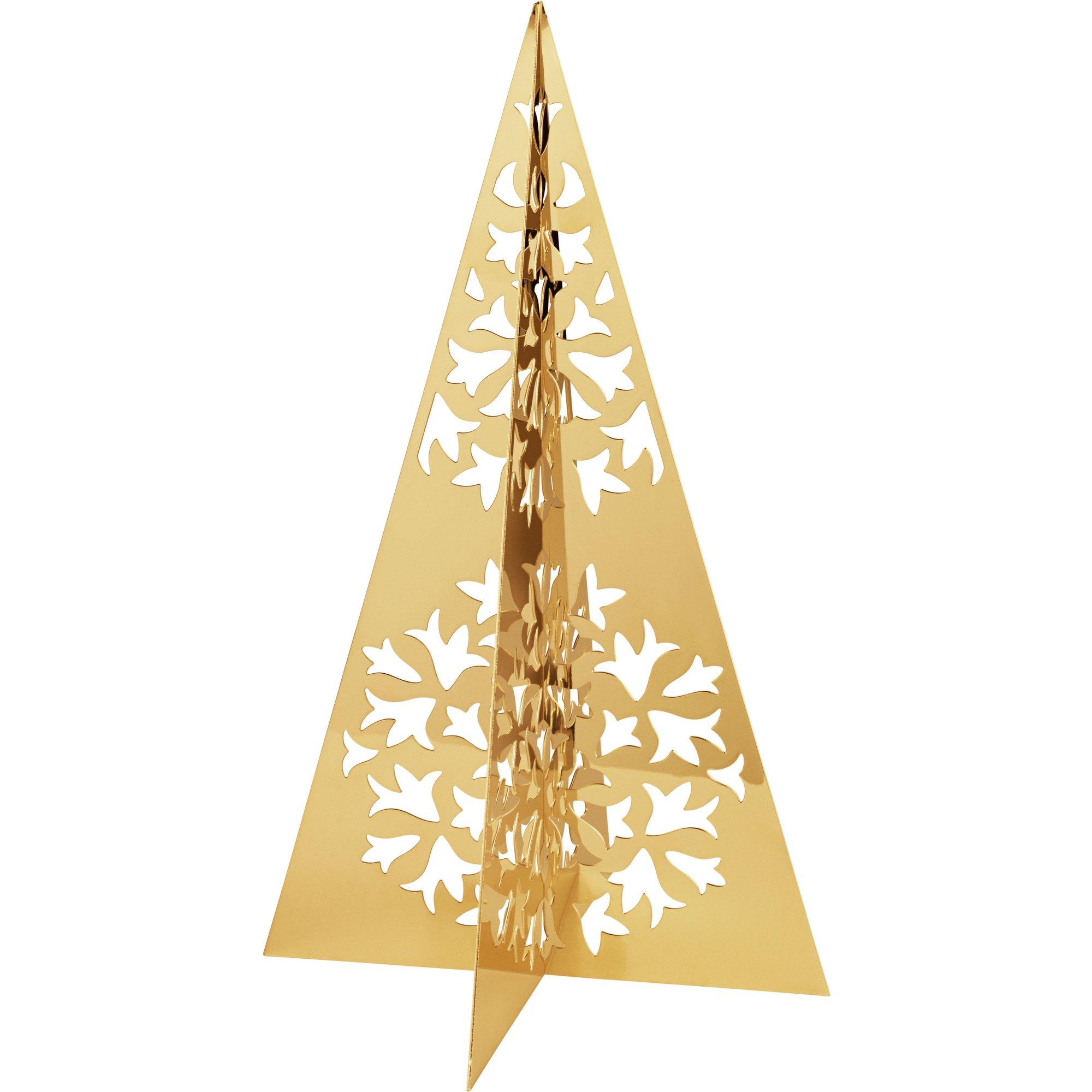 Georg Jensen Seasonal julgran guld stor