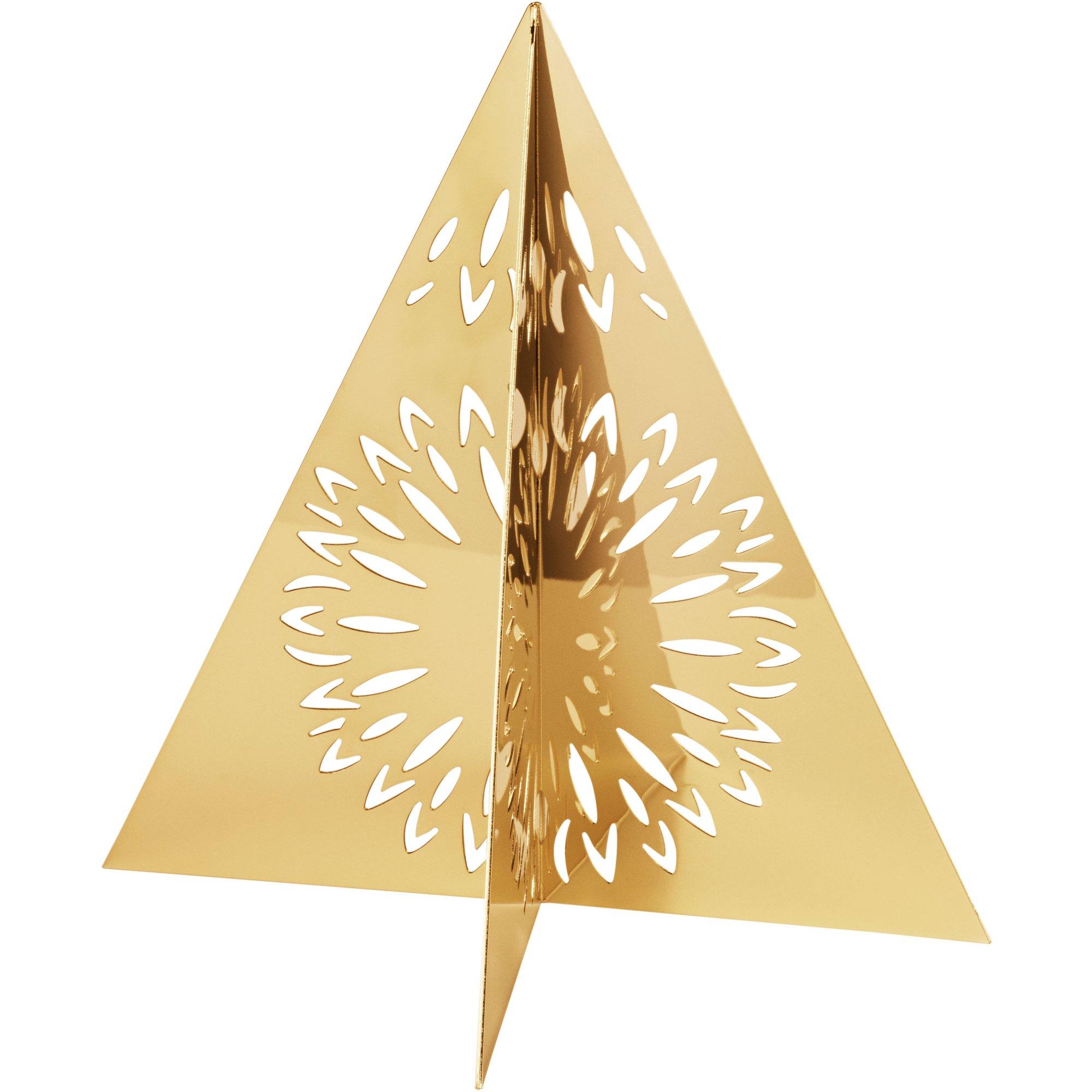 Georg Jensen Seasonal Julgran guld liten