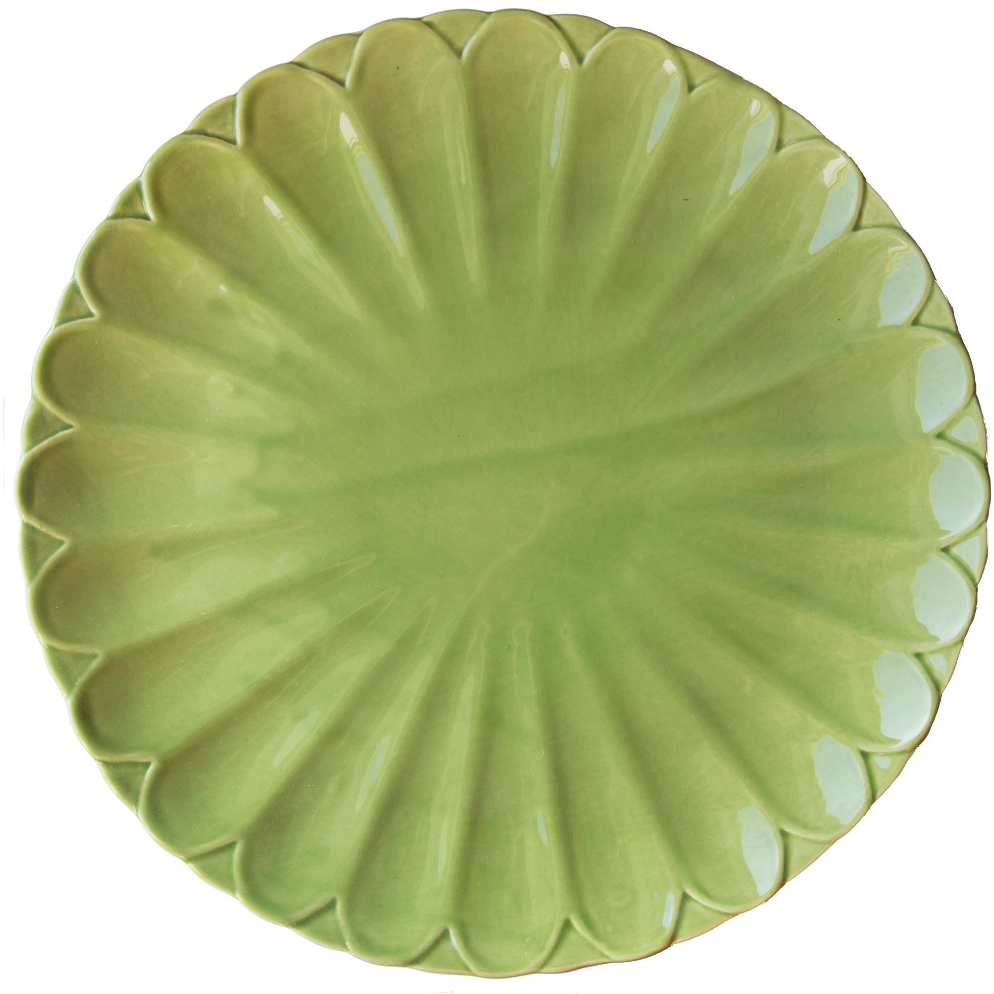 Gerbera Fat/Tallrik Toscana Mossgrön 30 cm