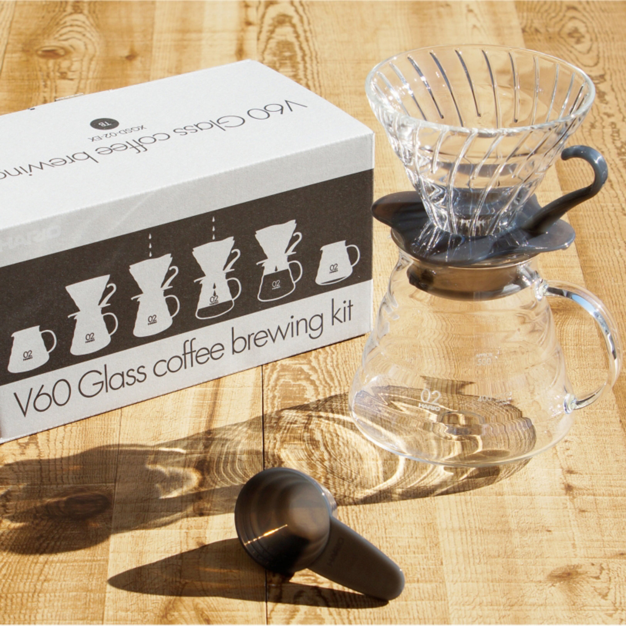 Hario Glass Coffee Brewing Kit