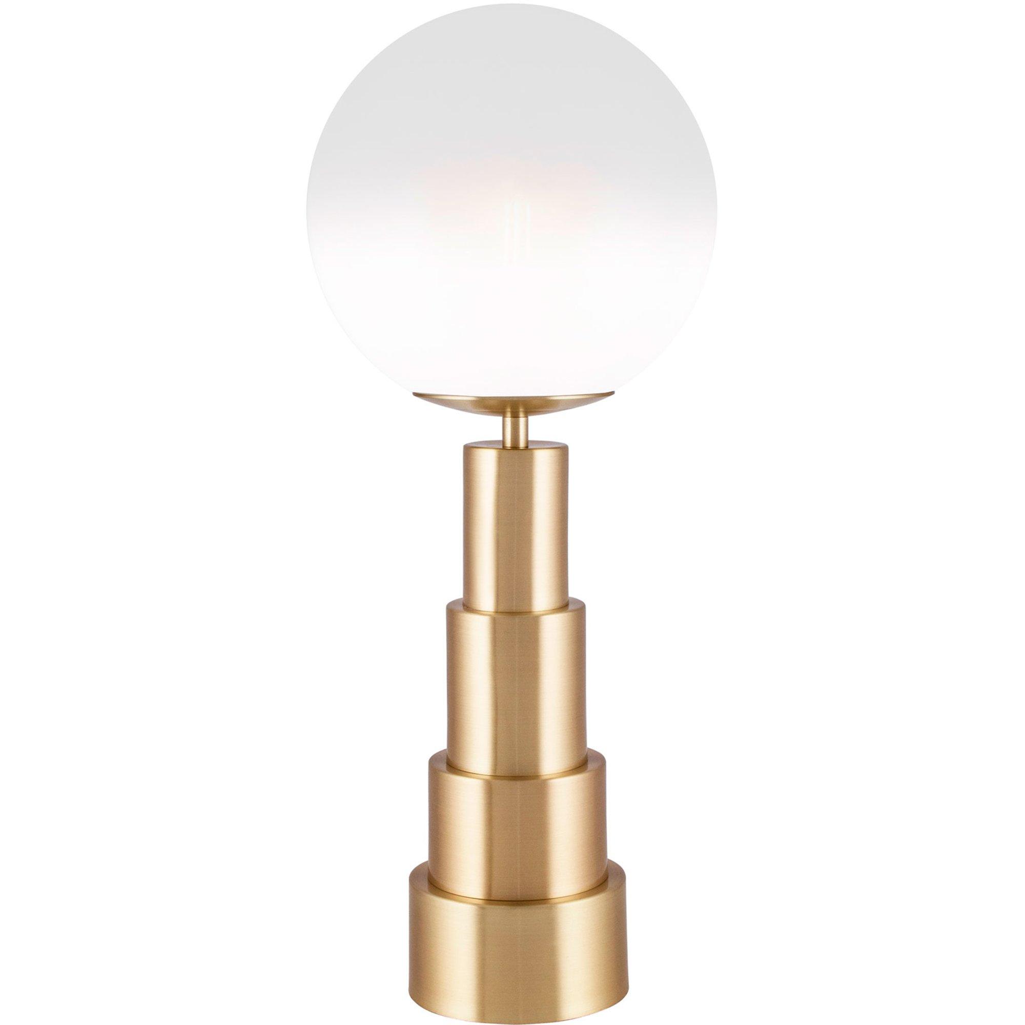 Globen Lighting Astro Bordslampa 20 cm borstad mässing