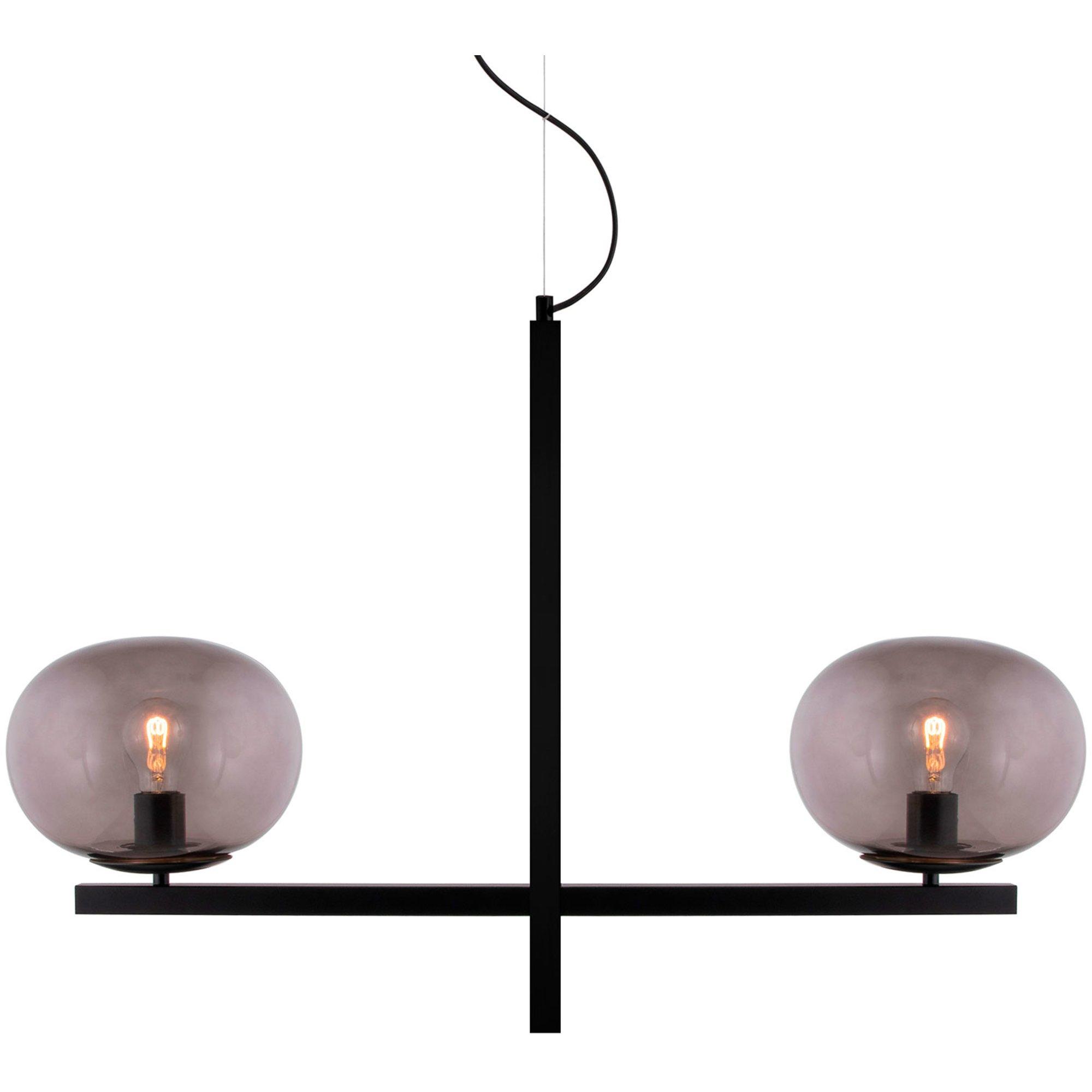 Globen Lighting Gemini Pendel svart