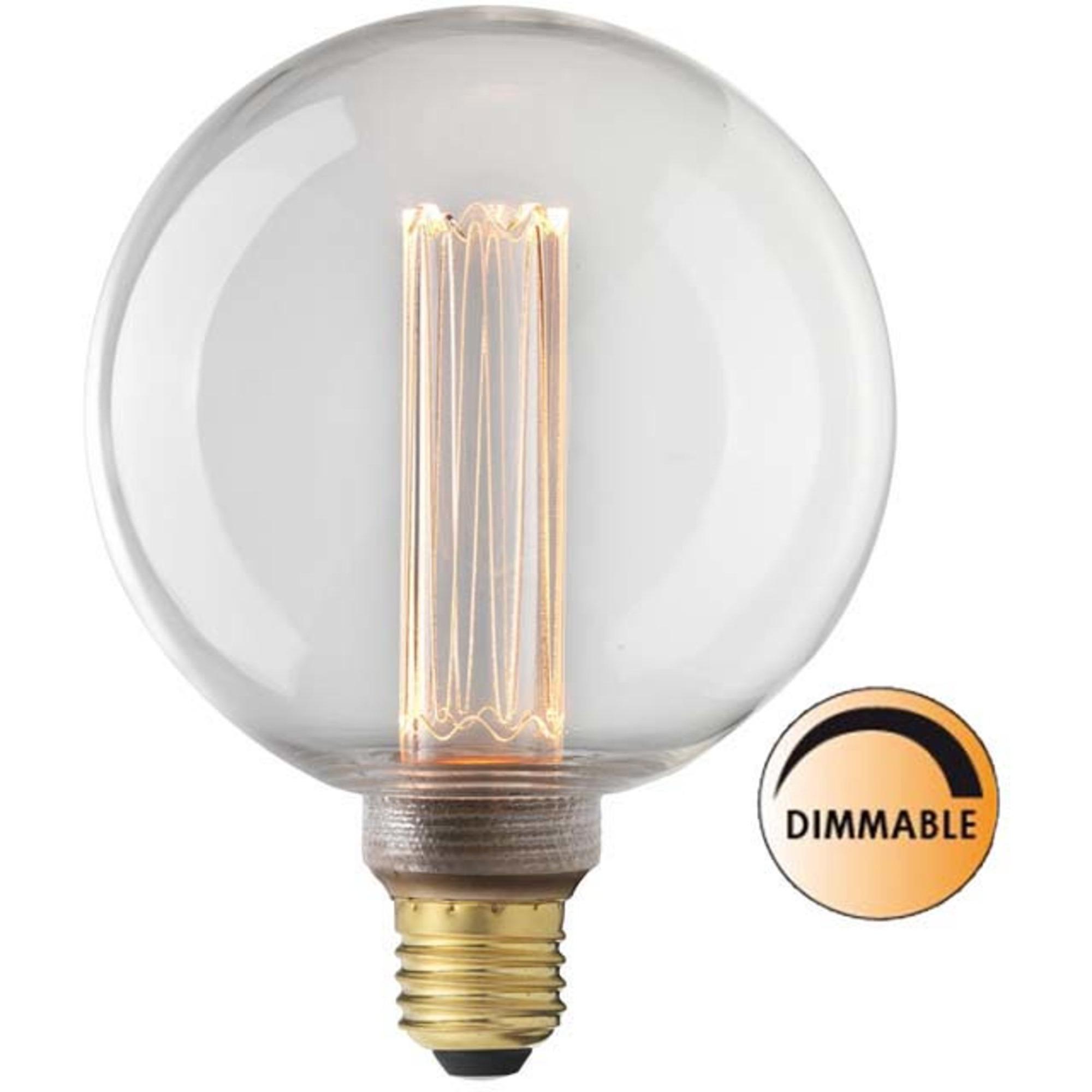Globen Lighting Ljuskälla Laser LED Filament DimbaKlar 125 mm E27