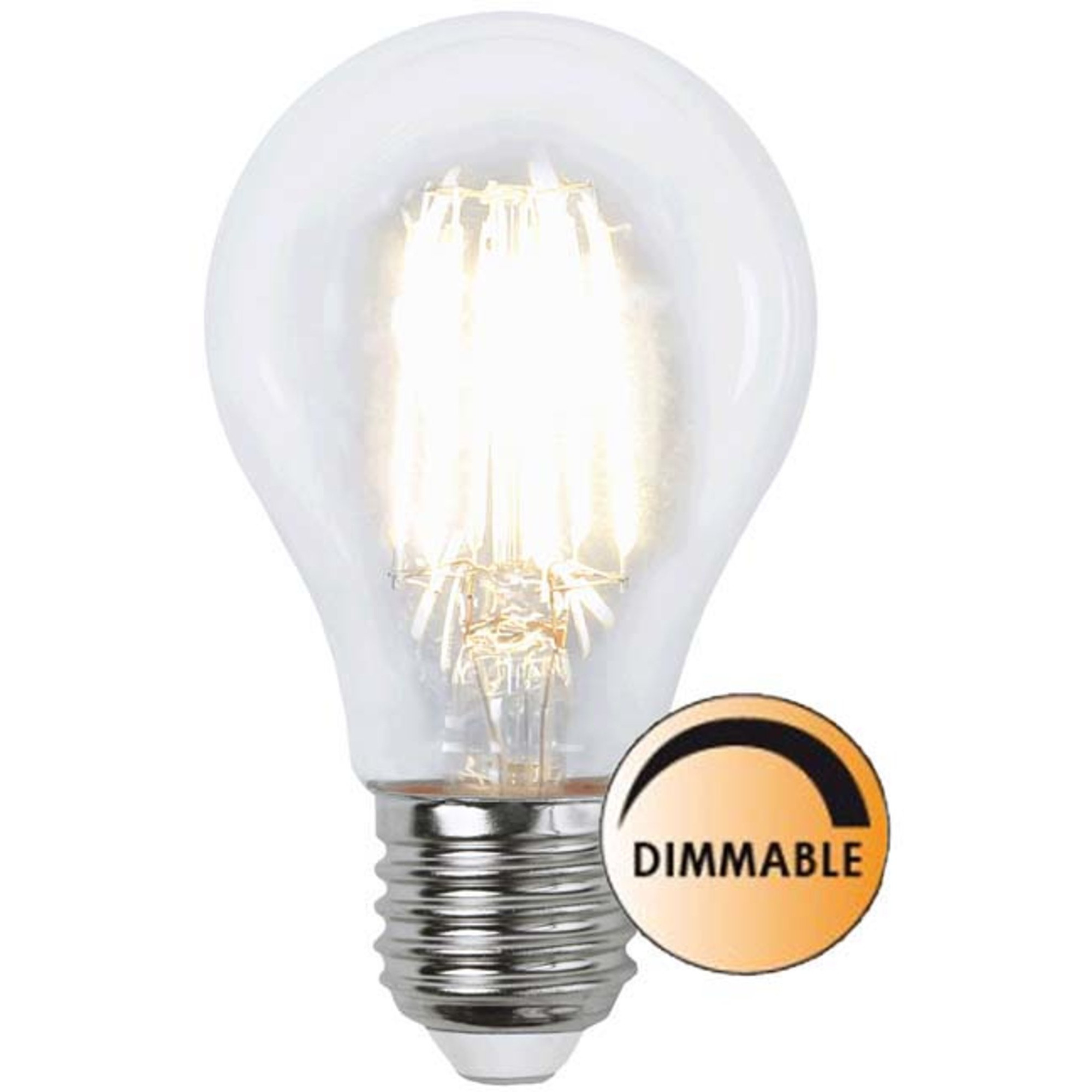 Globen Lighting Ljuskälla LED 352-32 Filament Klar 7 W Dimbar E27 Normal