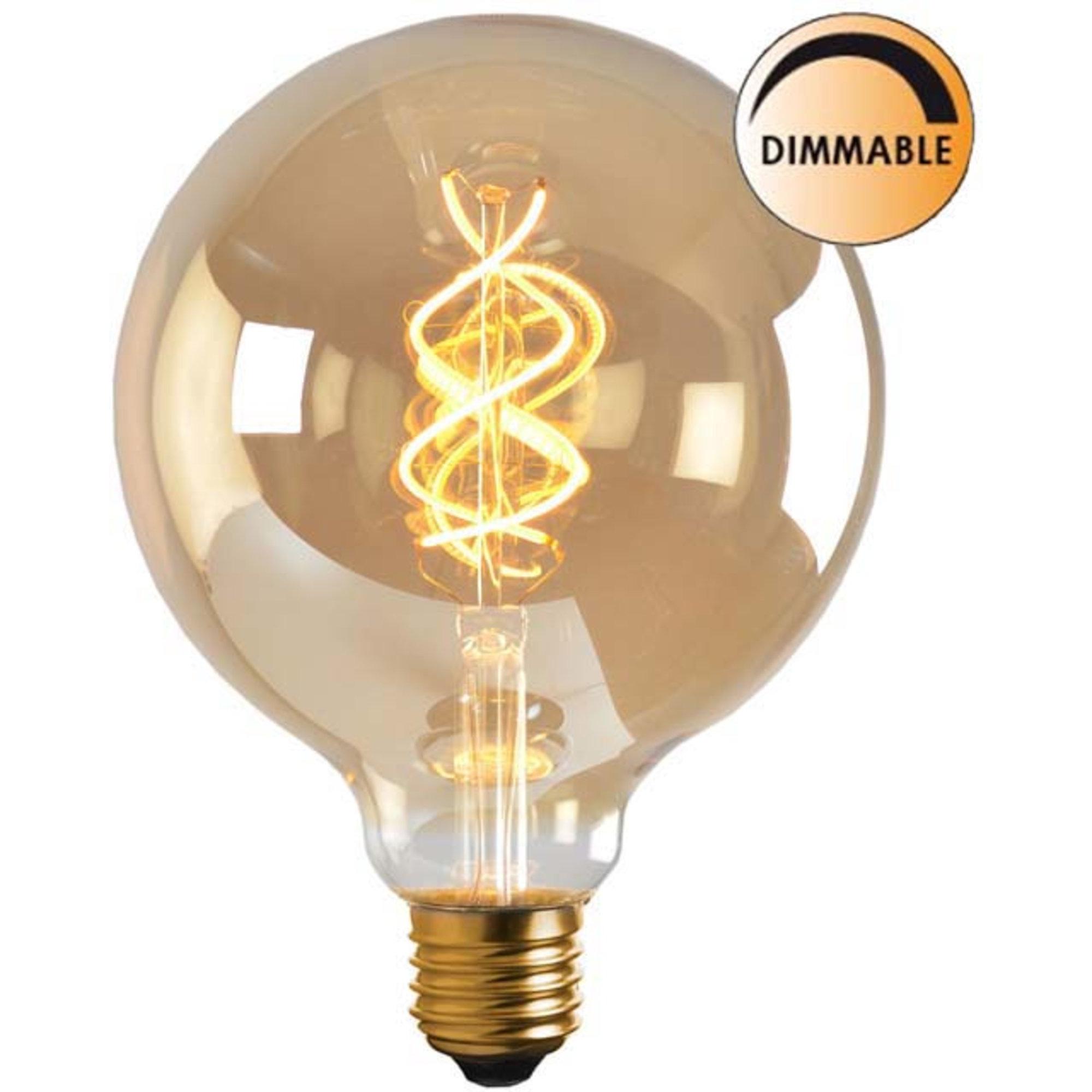 Globen Lighting Ljuskälla LED Soft Filament Dimbar Guld 100 mm
