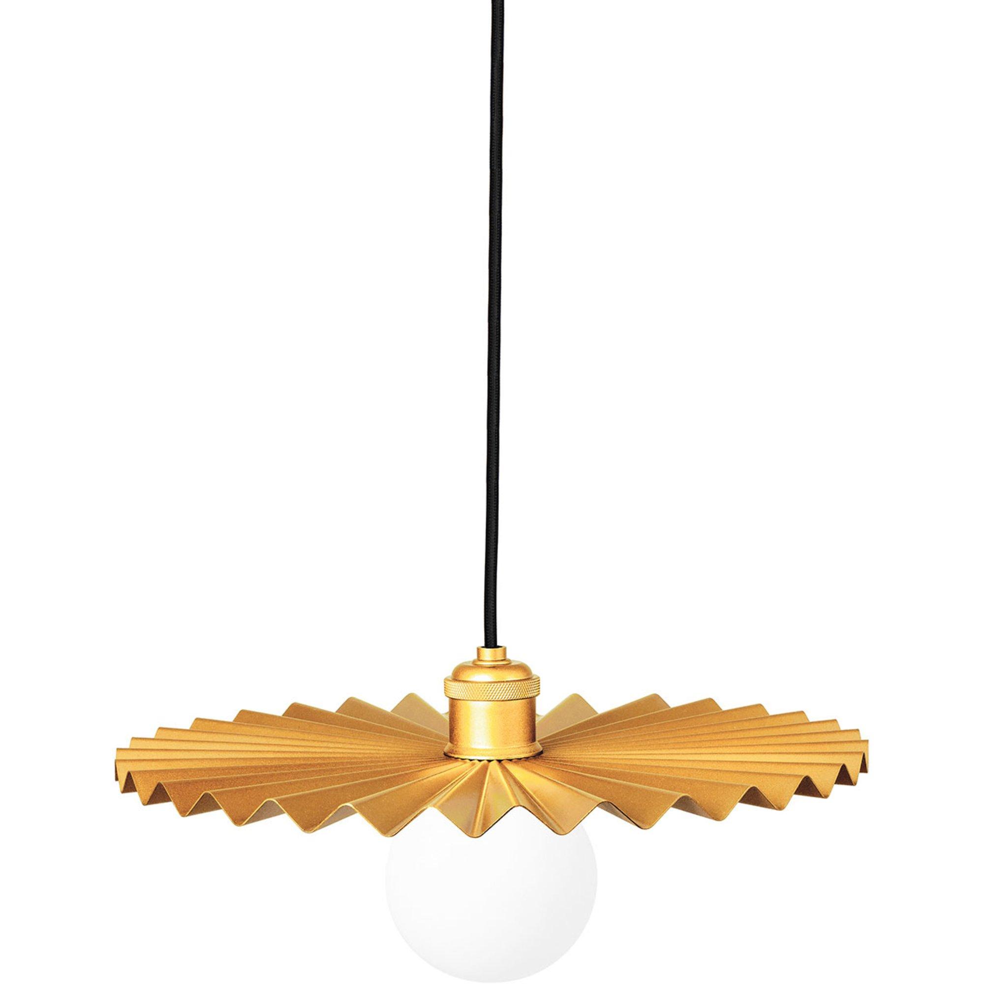 Globen Lighting Omega Pendel 35 cm borstad mässing