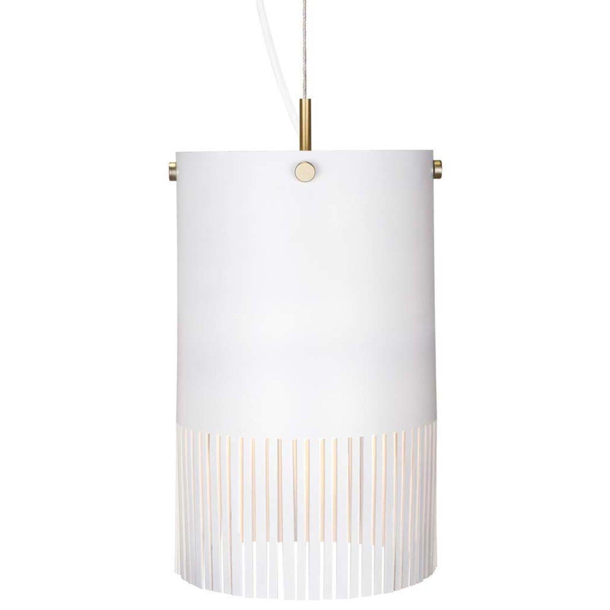 Globen Lighting Pendel Fringe Vit
