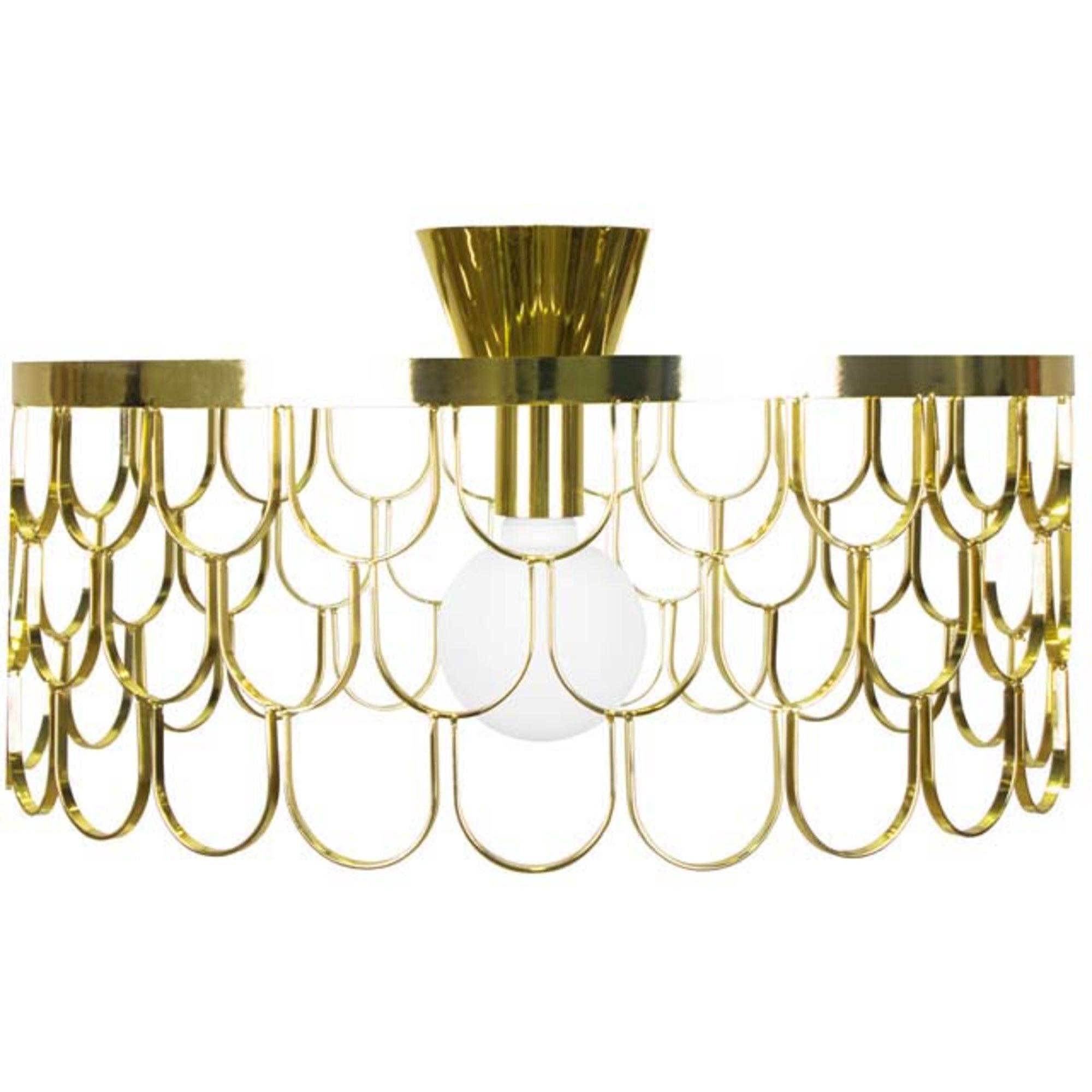Globen Lighting Plafond Gatsby Mässing