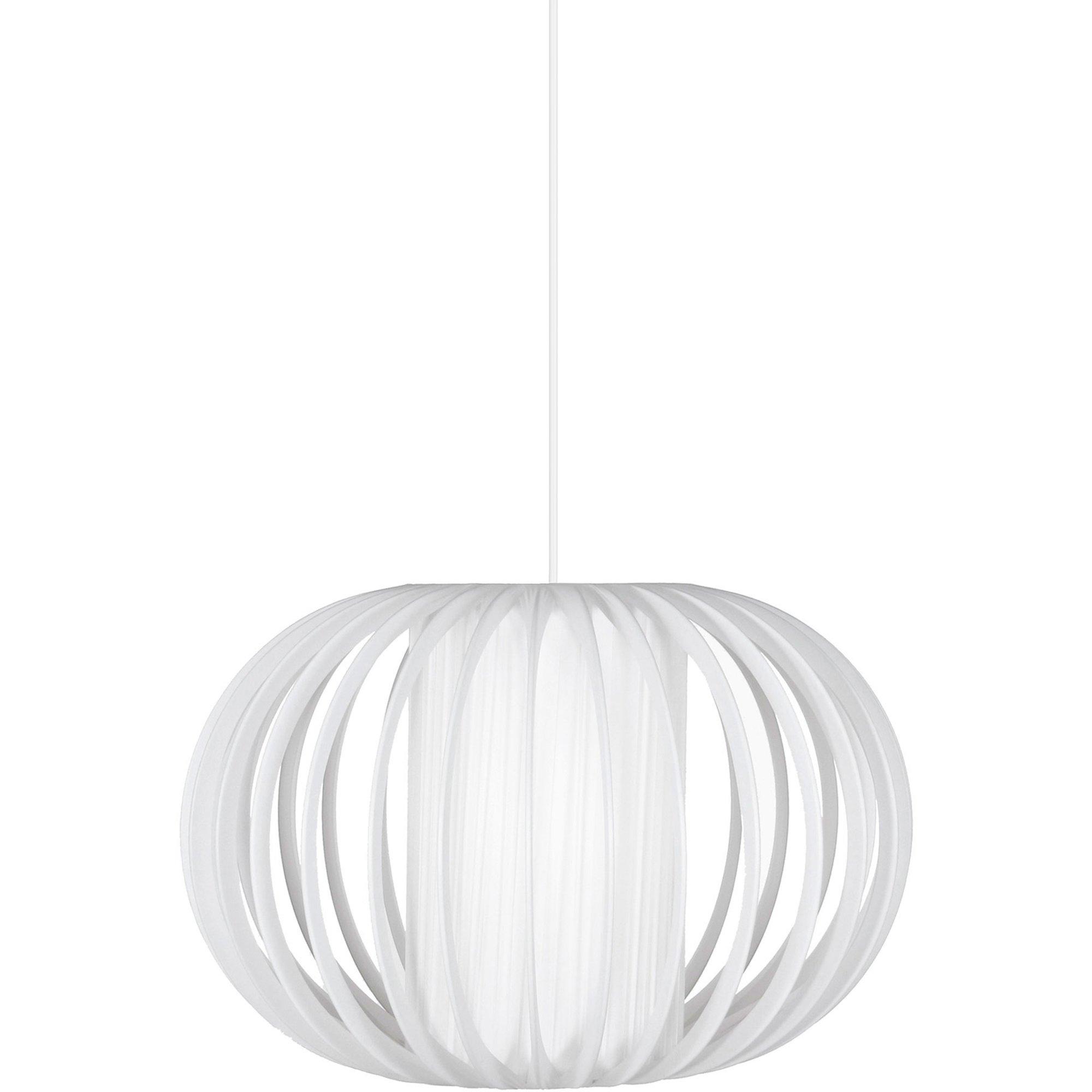 Globen Lighting Plastband Pendel vit