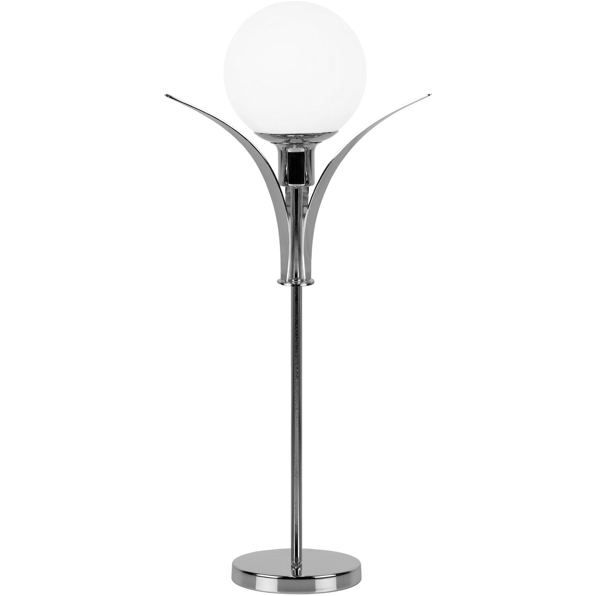 Globen Lighting Savoy High Bordslampa krom