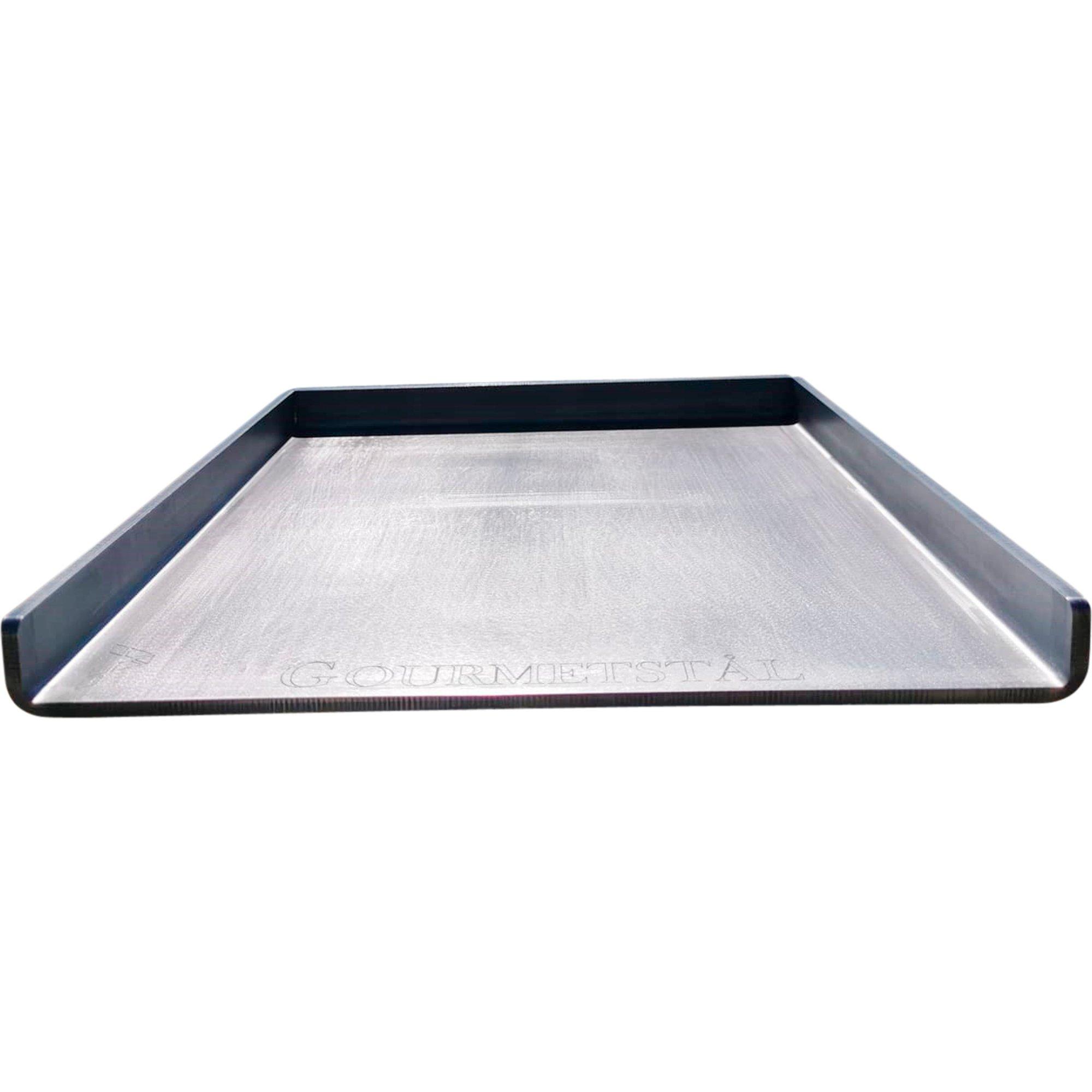 Gourmetstål Stekbord med höga kanter
