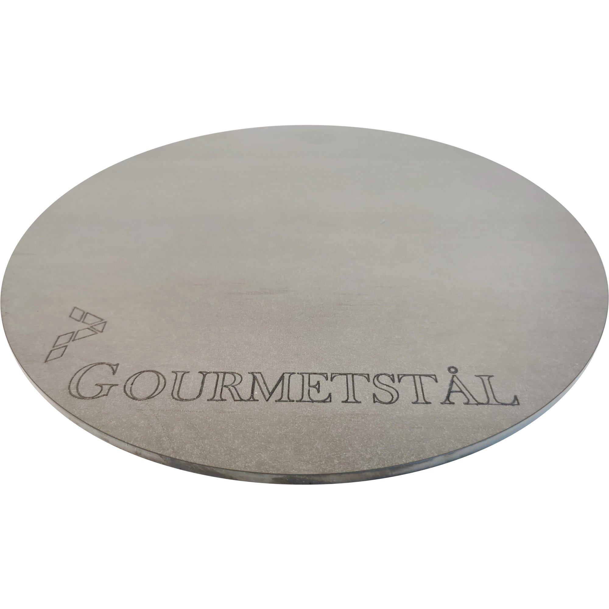 Gourmetstål Runt pizzastål 30 cm