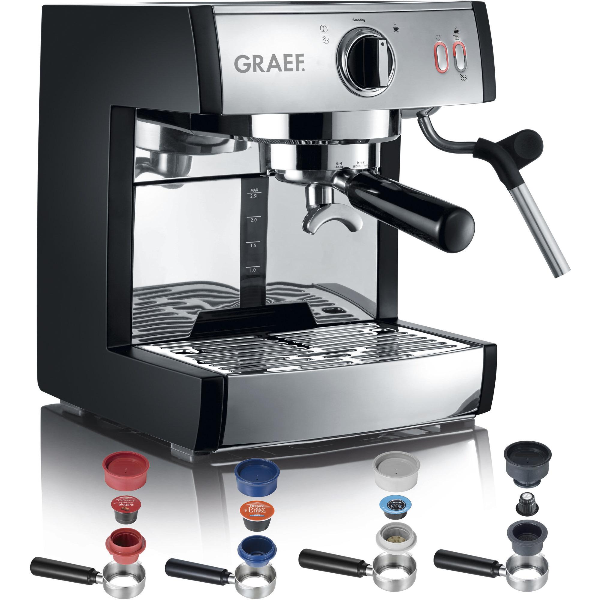 Graef Pivalla Komplett Espressomaskin