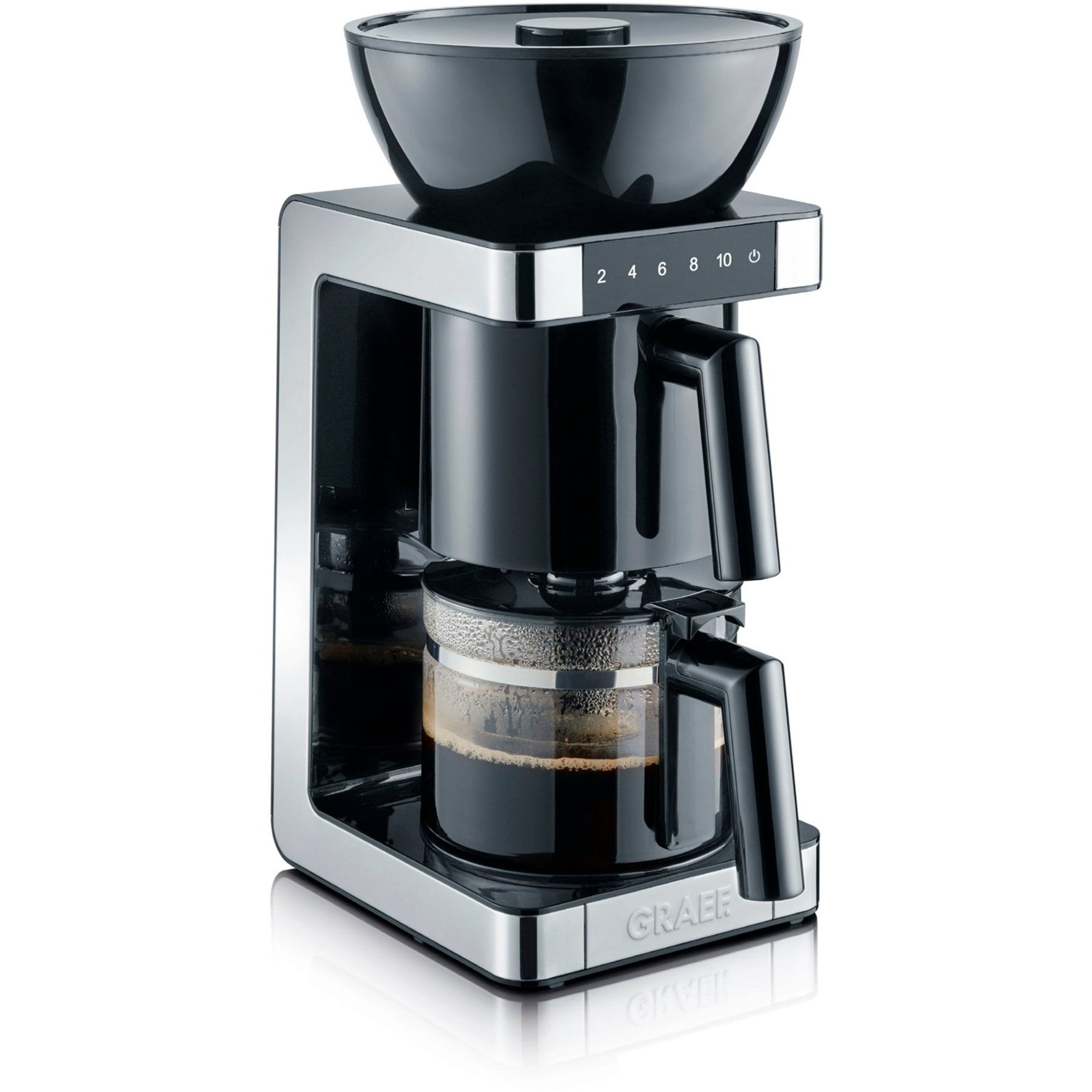 Graef Filterkaffemaskin svart
