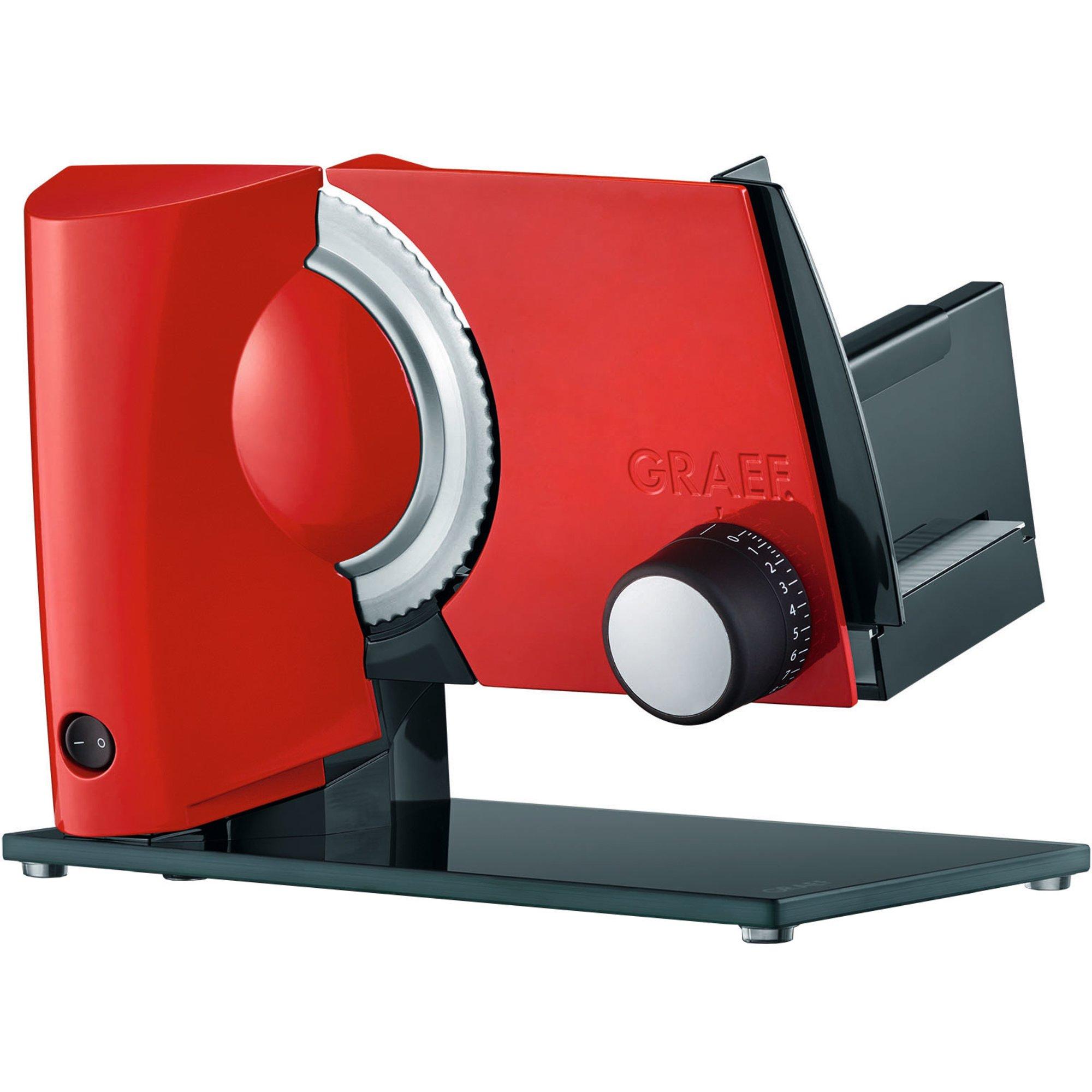 Graef MultiCut Plus Påläggsmaskin röd