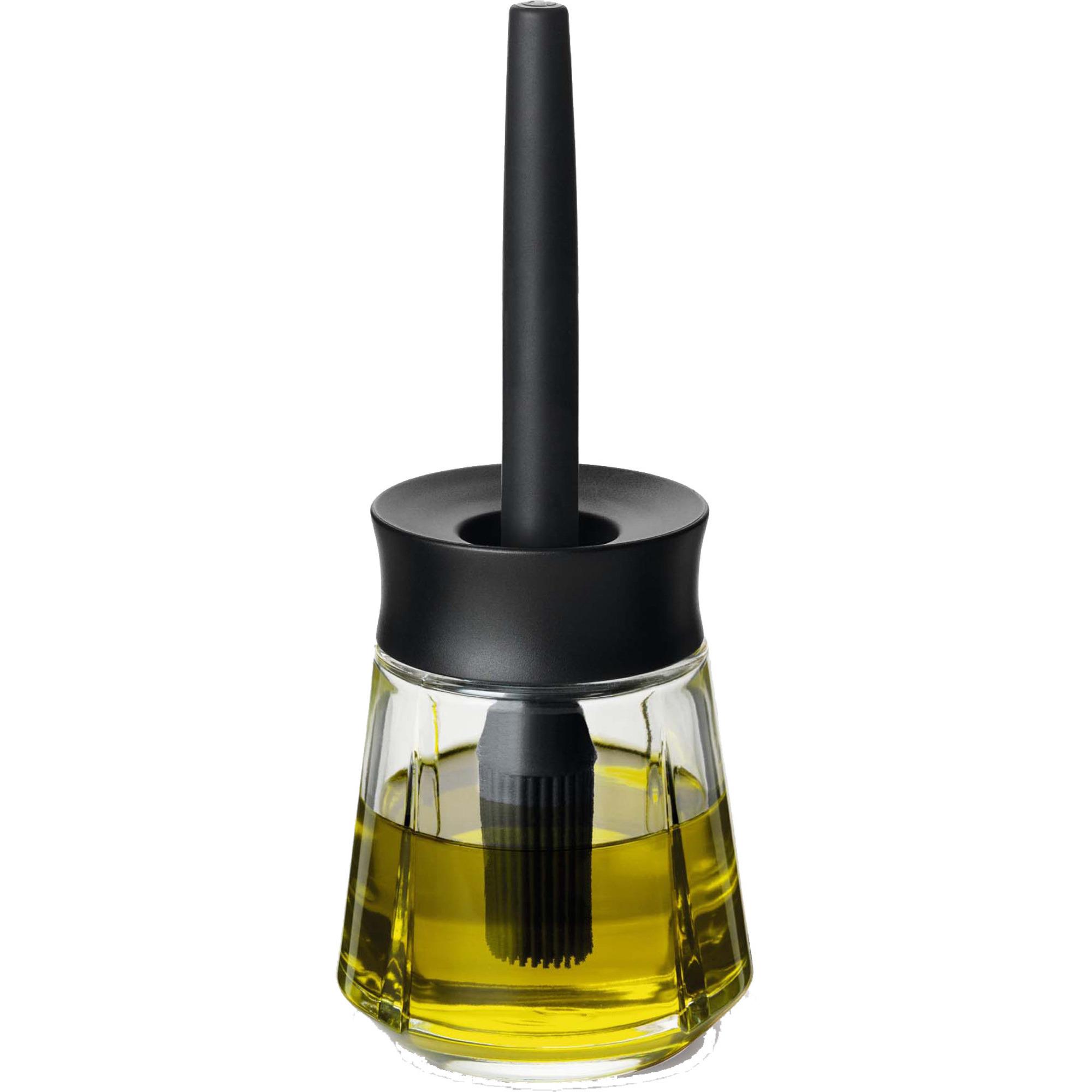 Rosendahl Grand Cru Marinadglas med pensel 25 cl svart