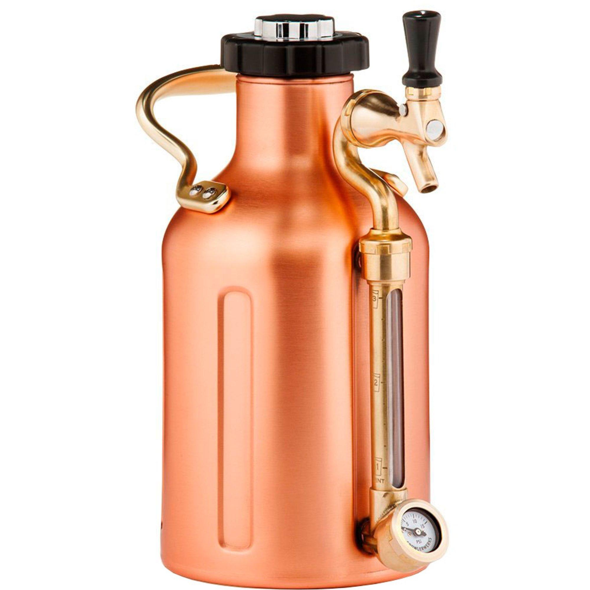 GrowlerWerks uKeg Pro koppar 19 liter